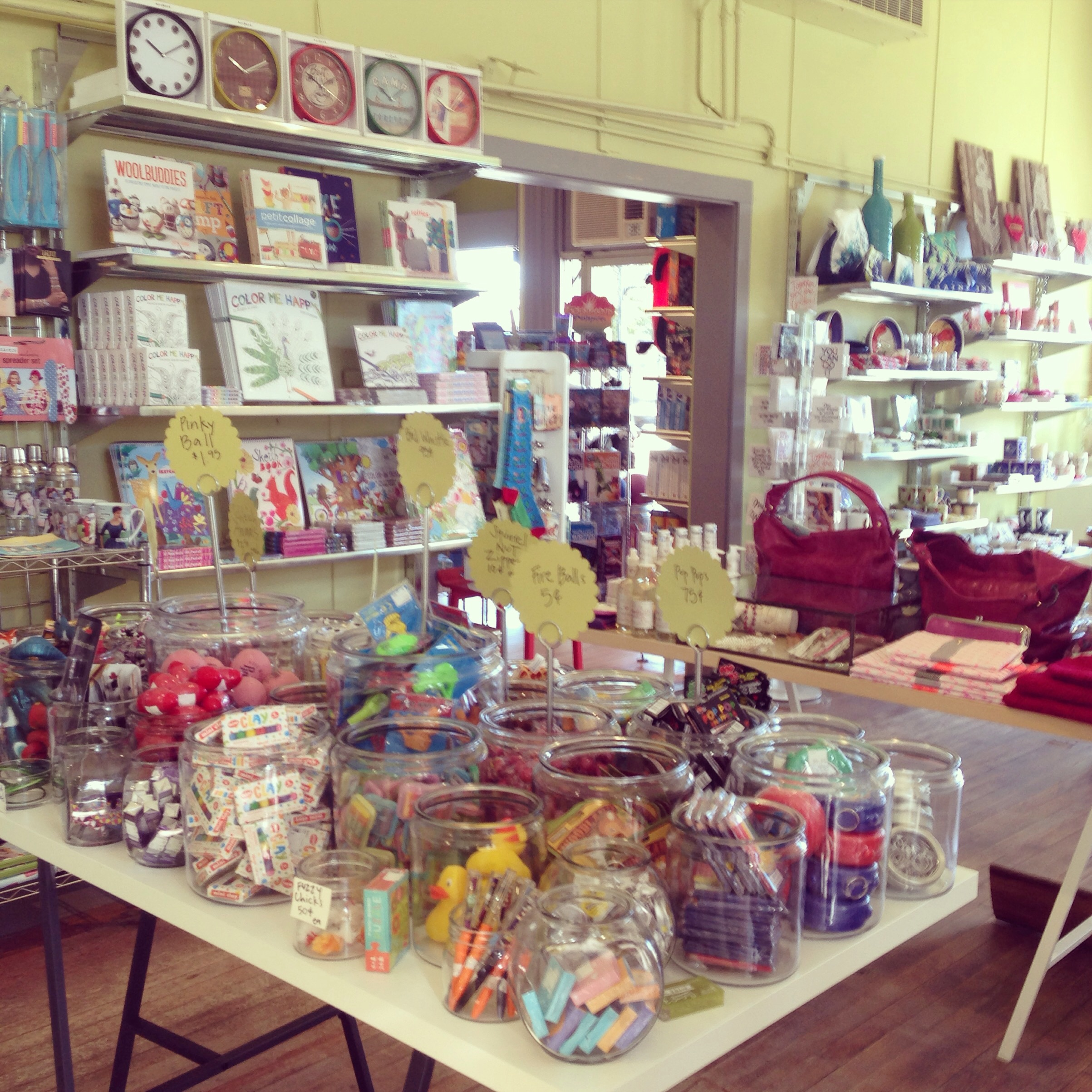 Wyler's in Brunswick, Maine - lots of great, unique gifts!