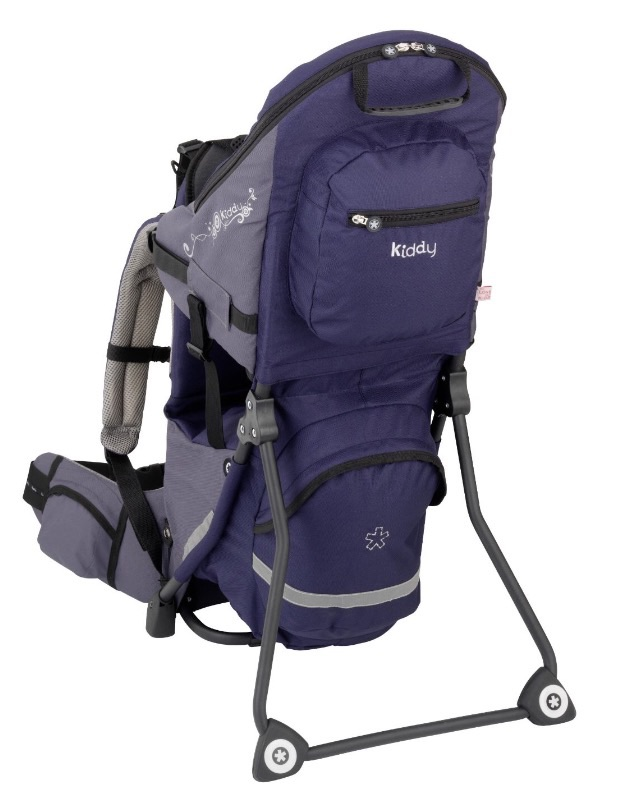 Hiking backpack carrier - a must for hiking with a toddler