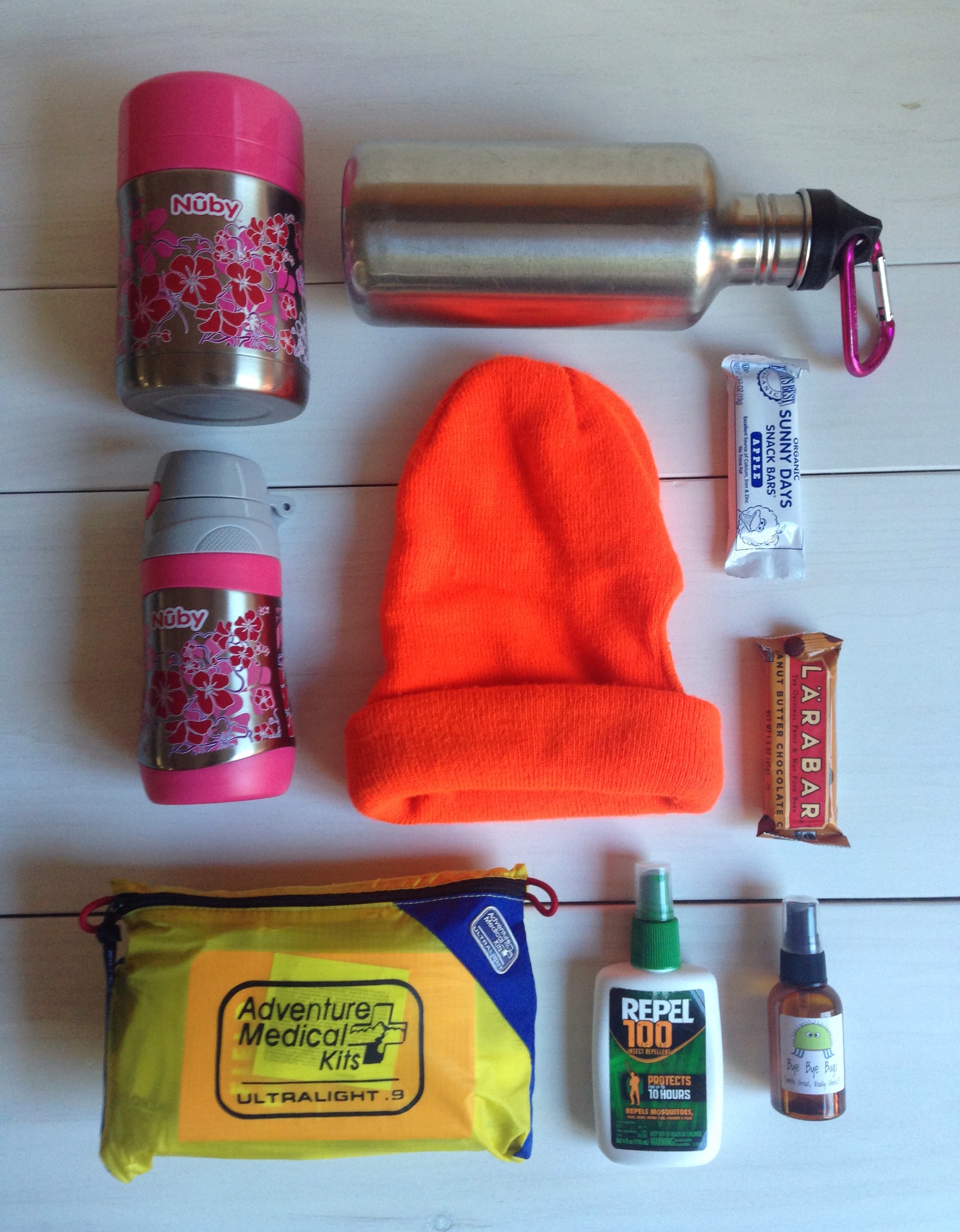 Gear to bring for hiking with a toddler or small children