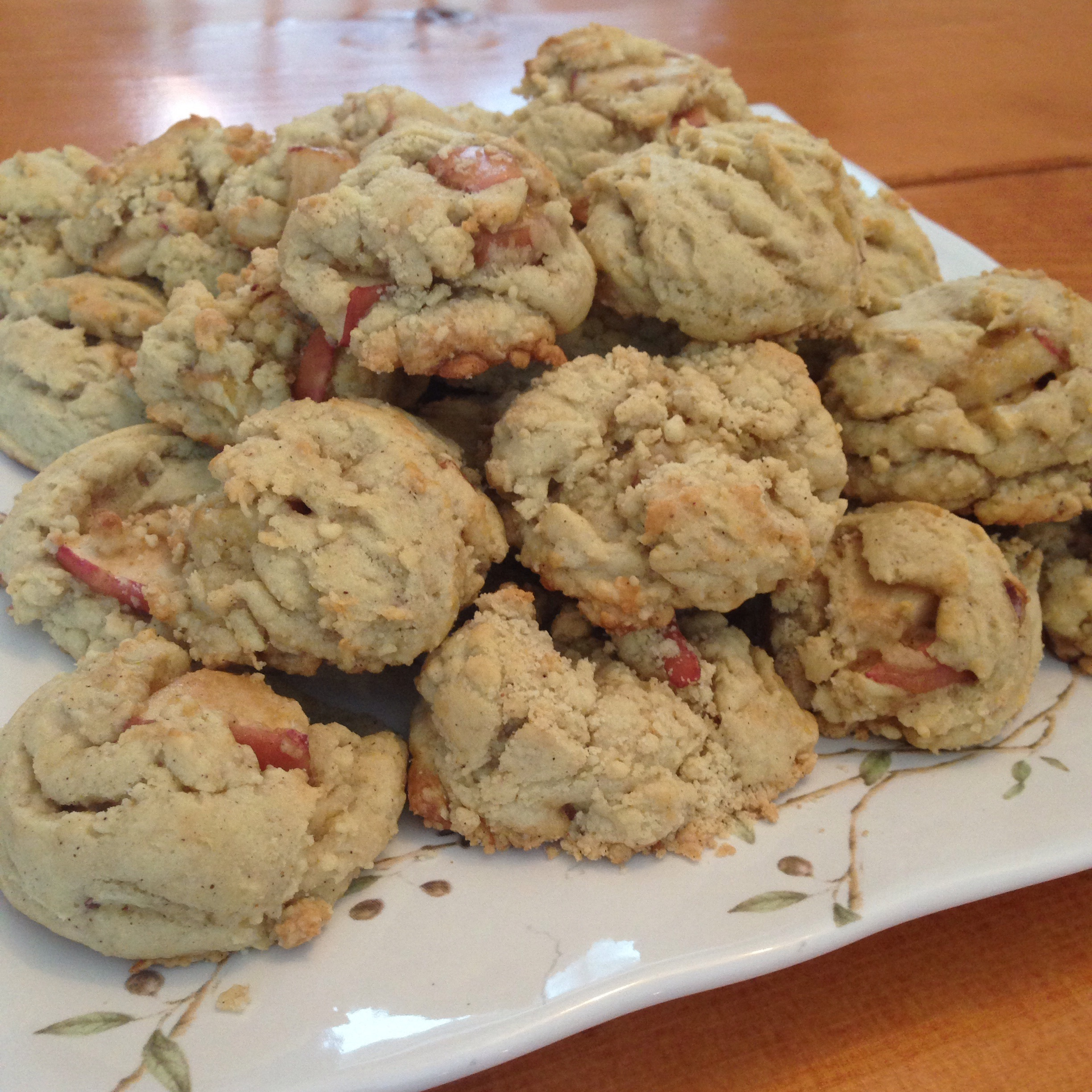 Grandma's Apple Cookie Recipe | Great cookie recipe for Fall or any time of the year!  Lightly spiced and not too sweet, perfect!