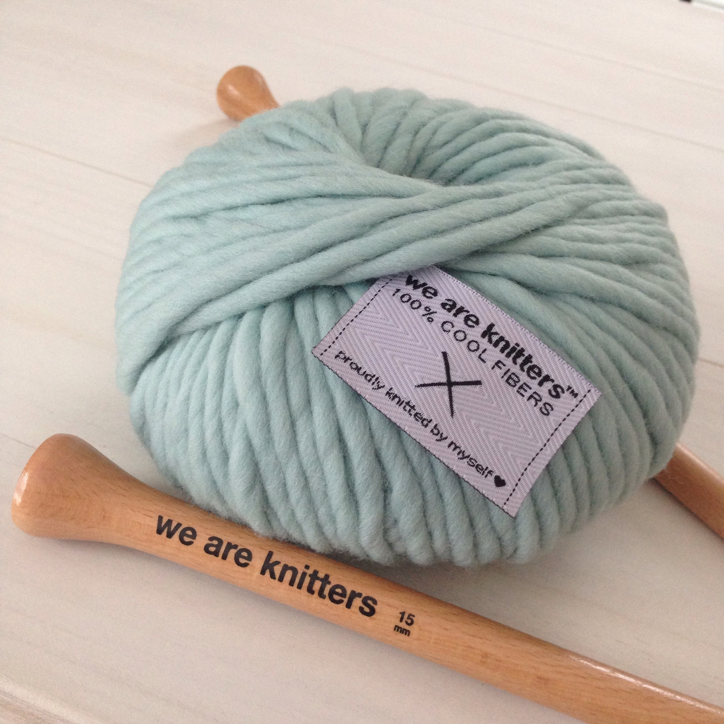 Happy Mail:  We Are Knitters Downtown Snood Knit Kit for Beginners