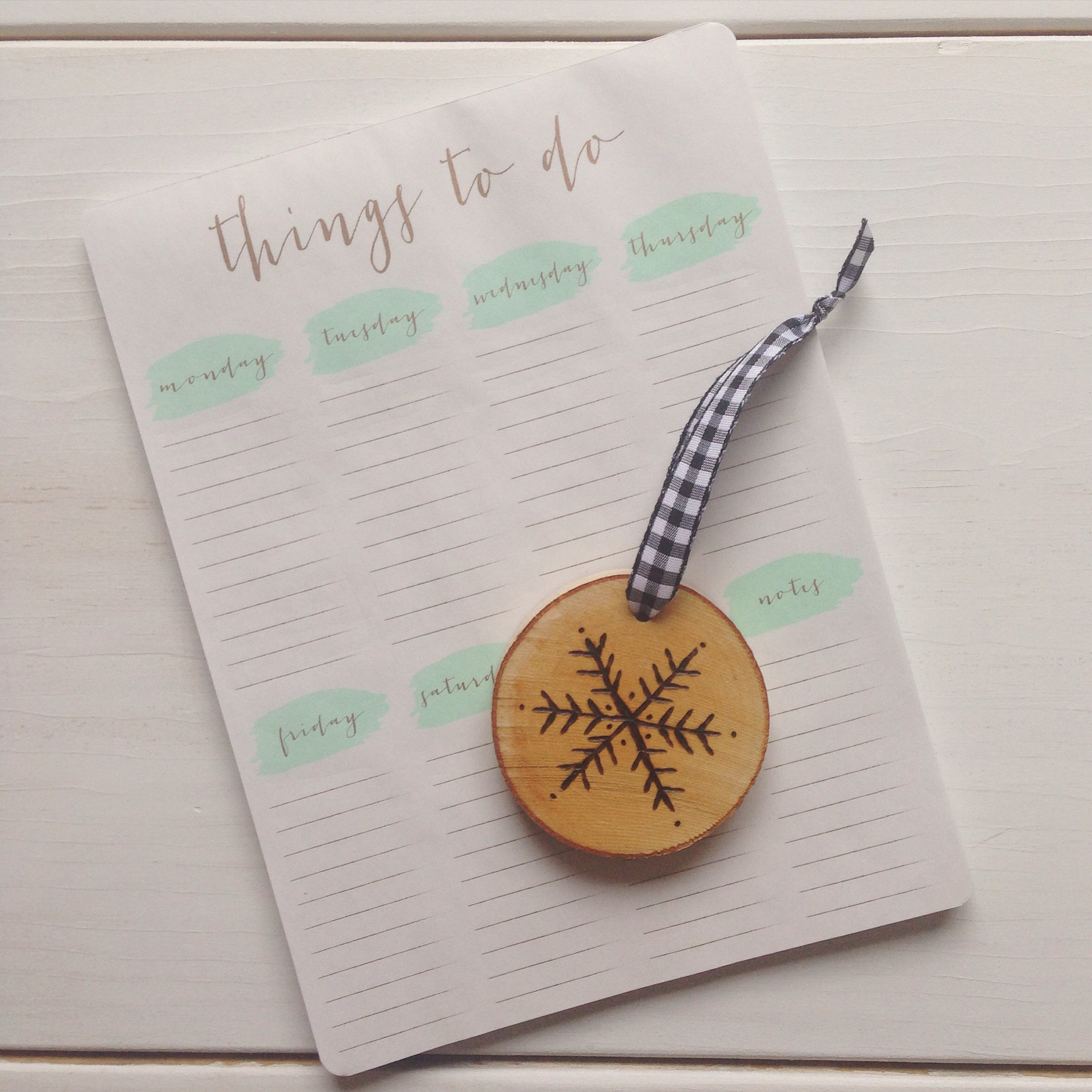 To do list - so much (great!) things to do!!