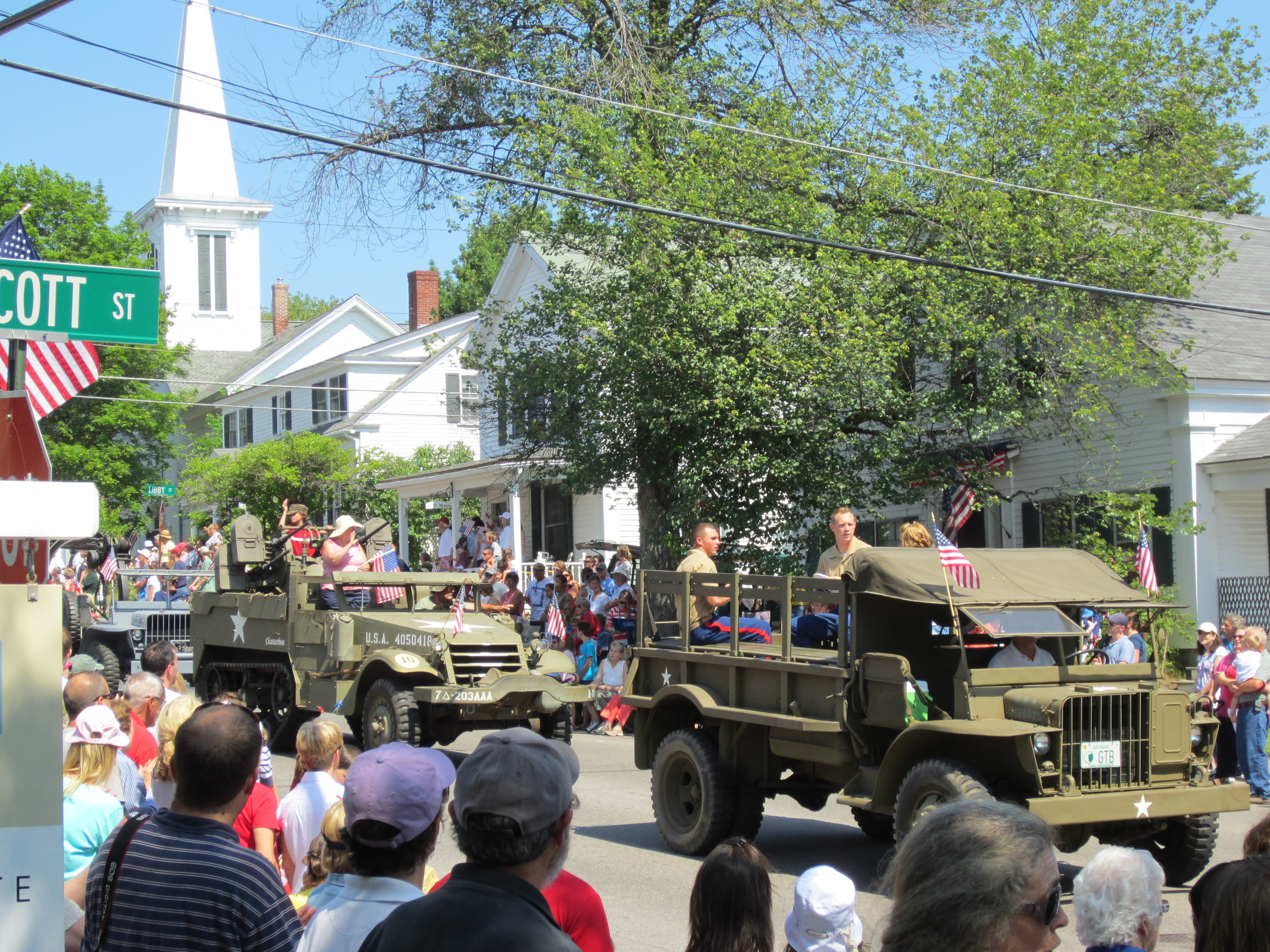 Famous 4th of July Parade in Wolfeboro, NH