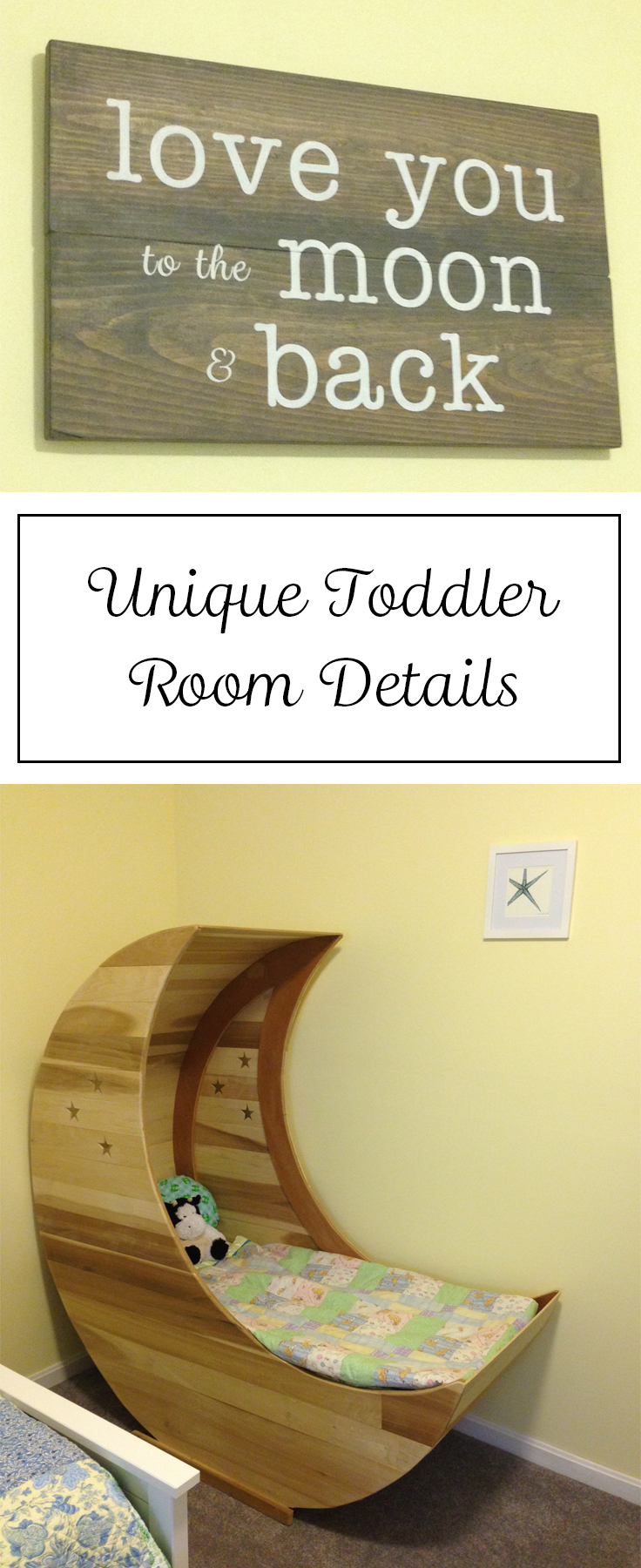 Unique Toddler Room Details