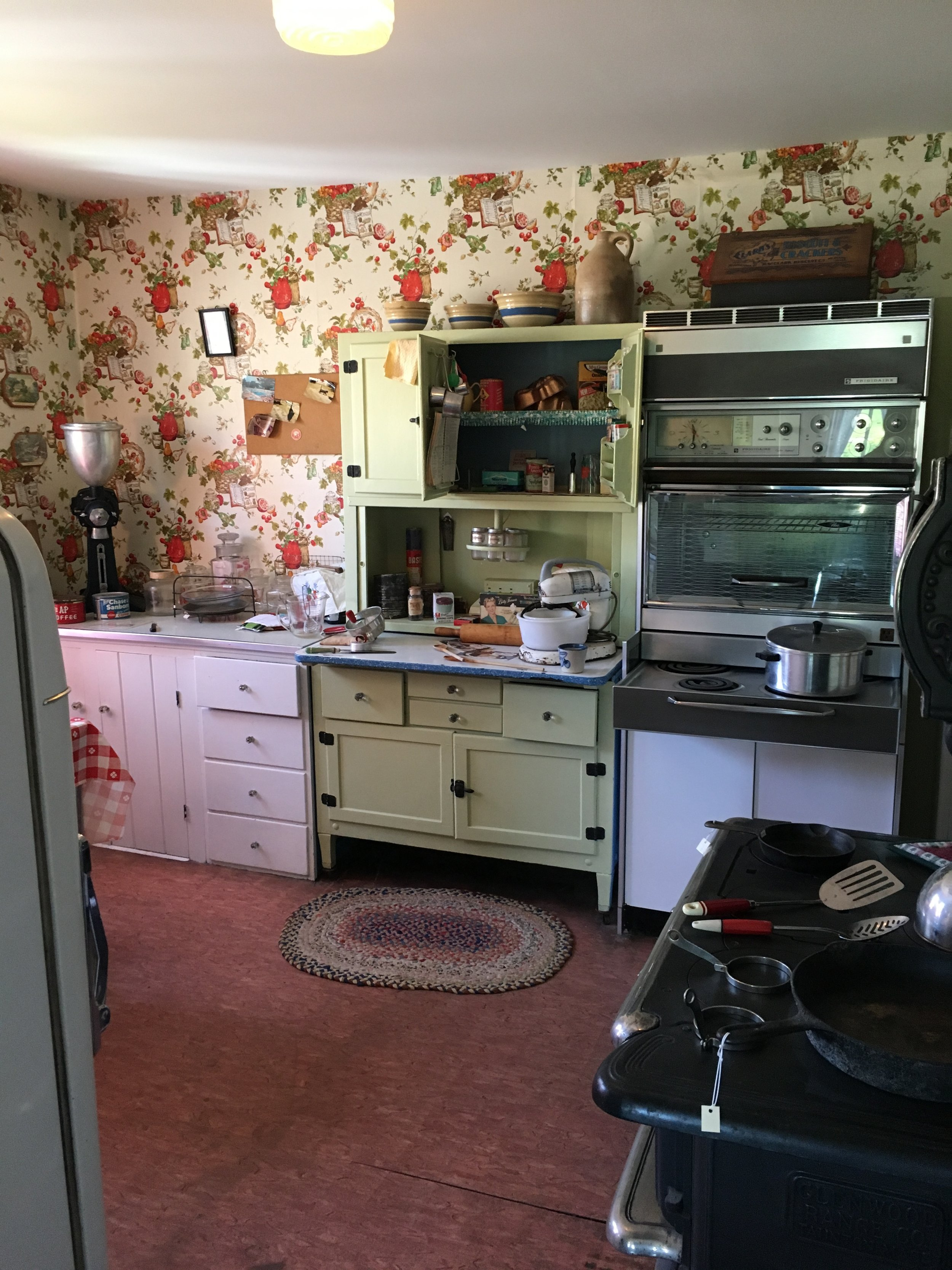 Newer kitchen of a later generation