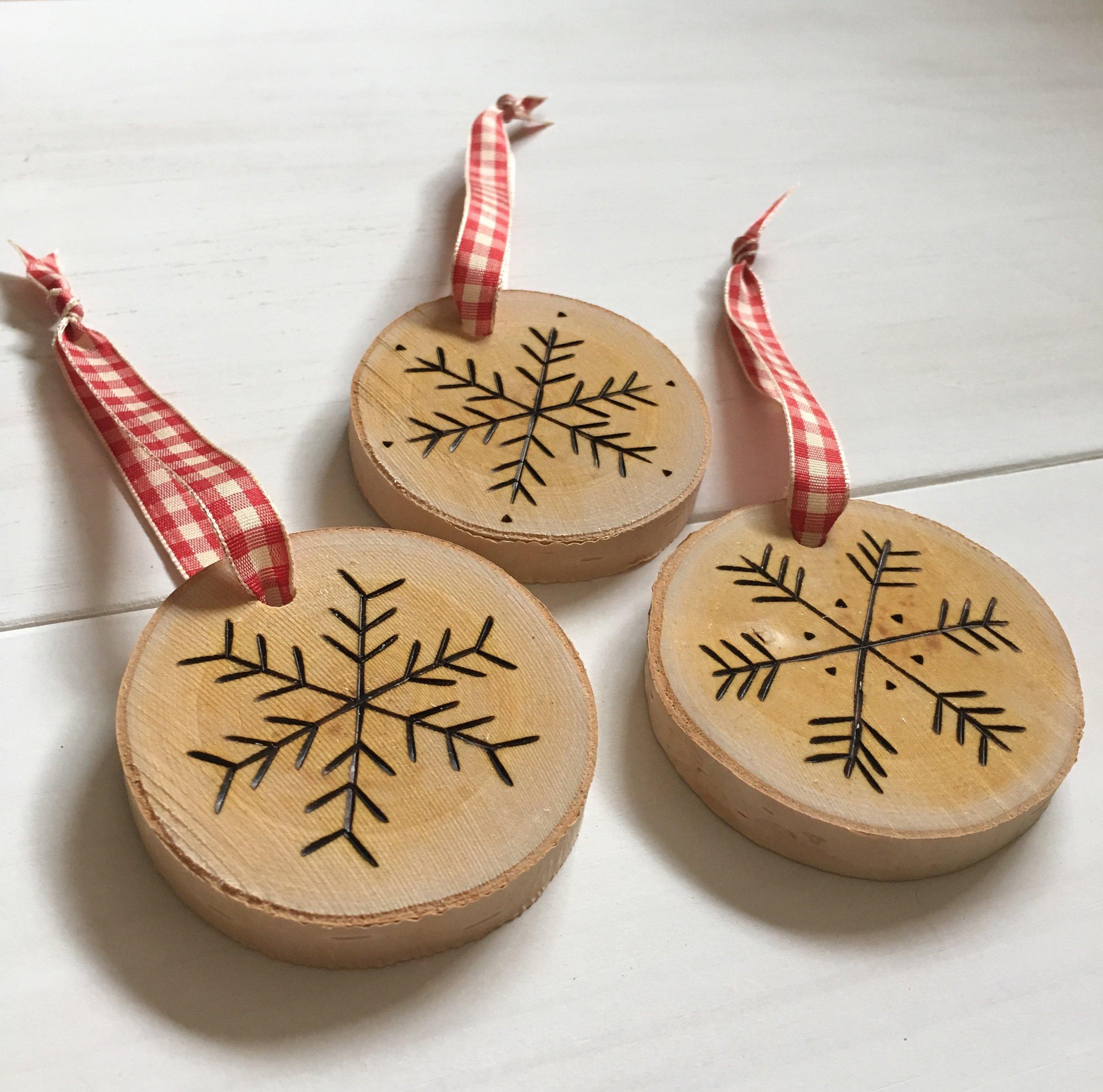Birch Landing Home - Handmade Ornaments