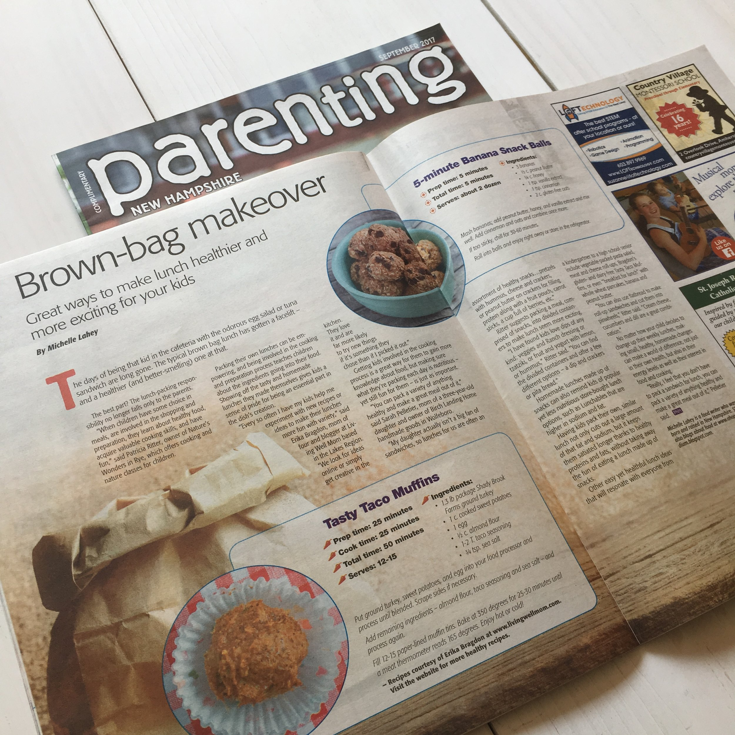 """Brown-Bag Makeover"" 