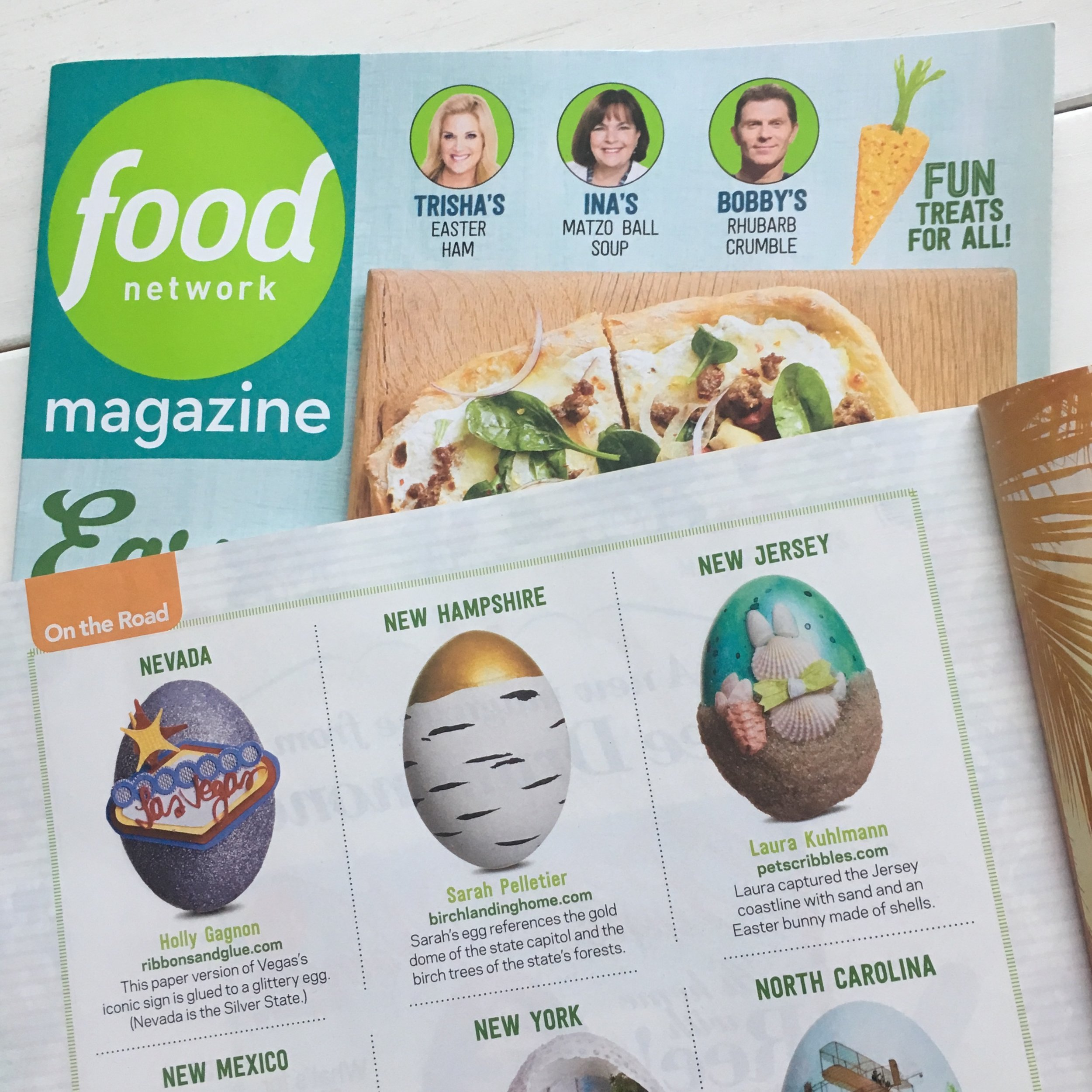 As seen in the April, 2018 issue of  Food Network Magazine !
