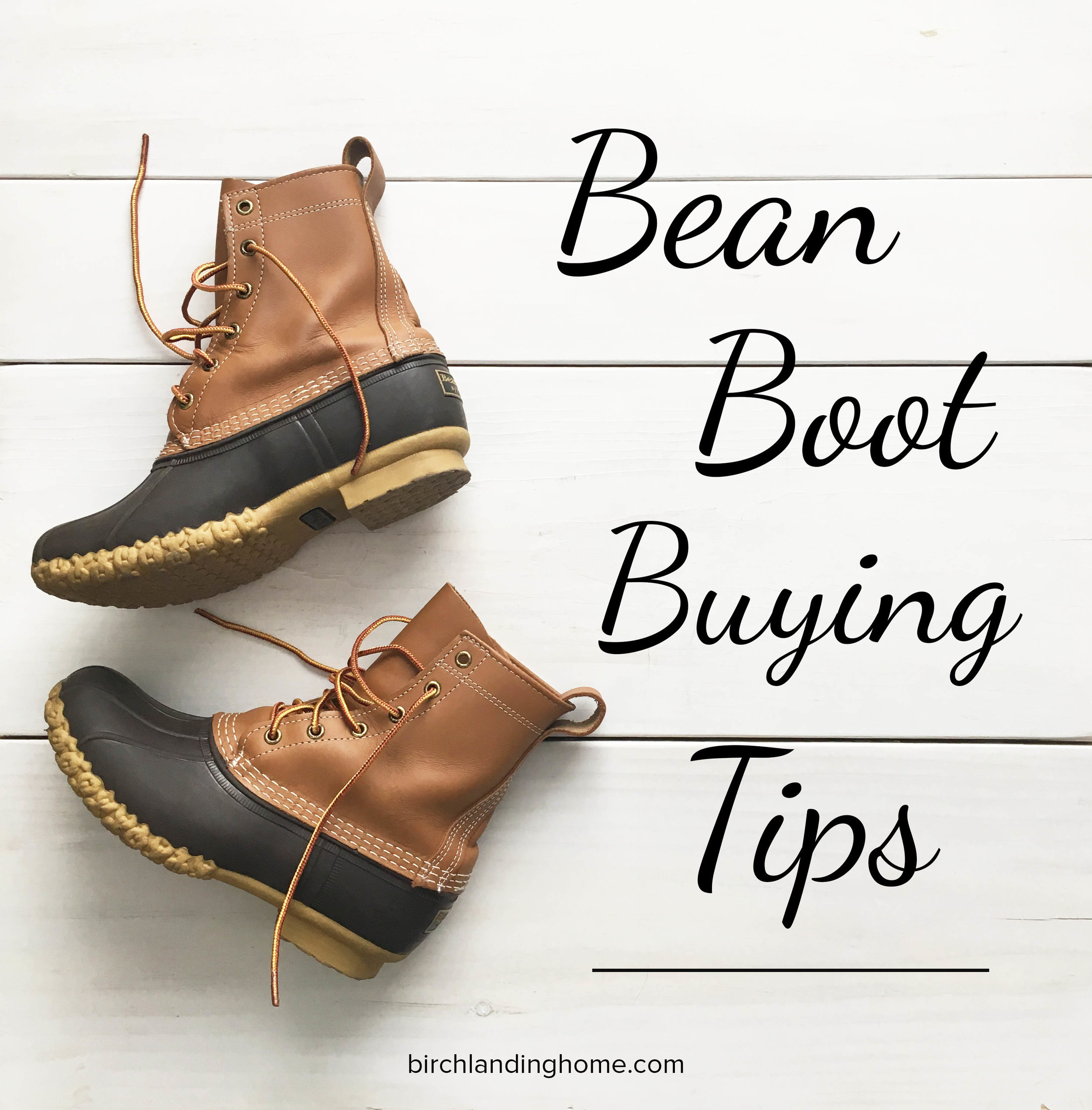 Tips on Buying Bean Boots