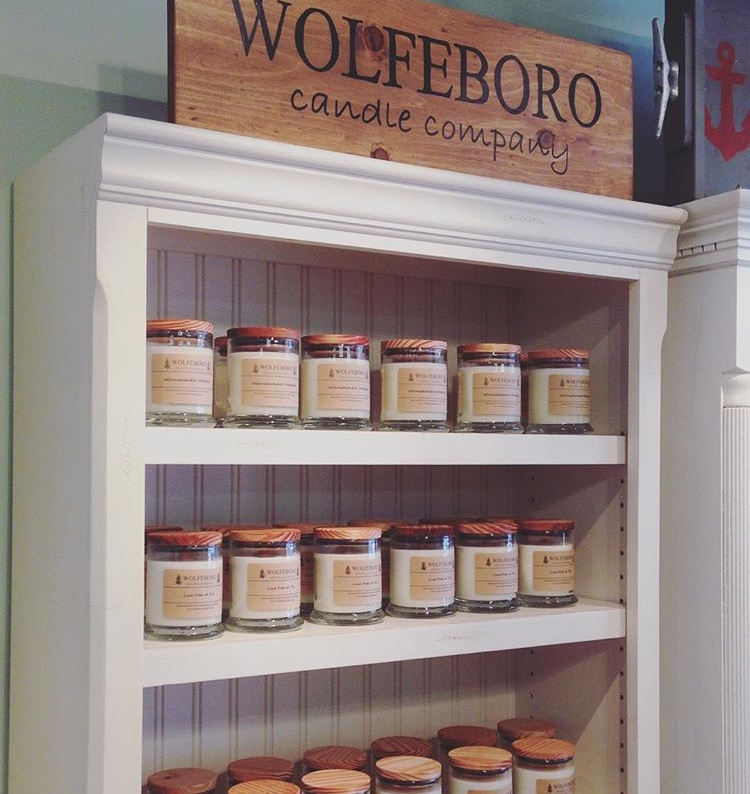 Wolfeboro Candle Company at Lupine Home & Gift