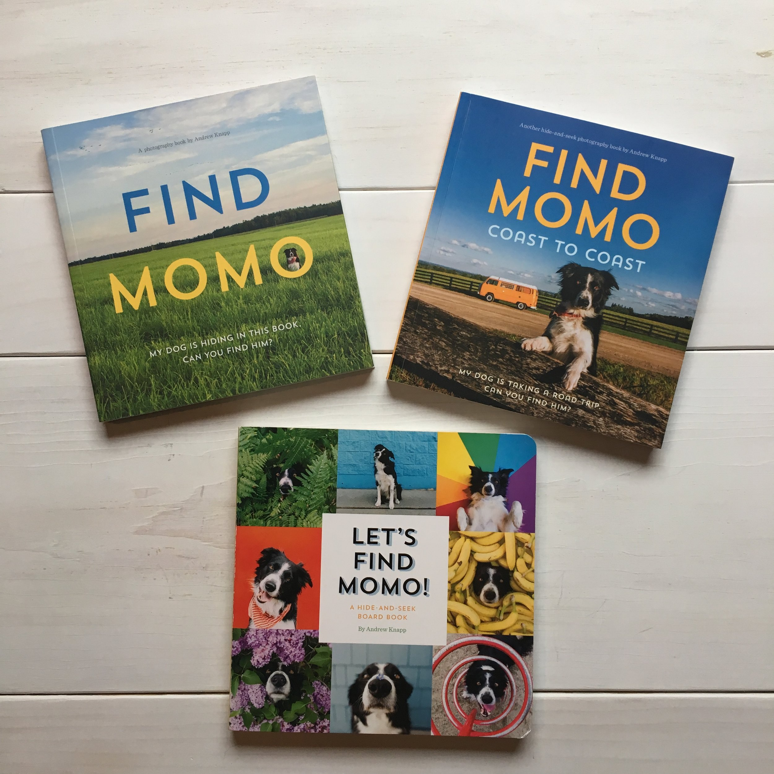 "Favorite Finds:  ""Find Momo"" Books are perfect for all ages!"