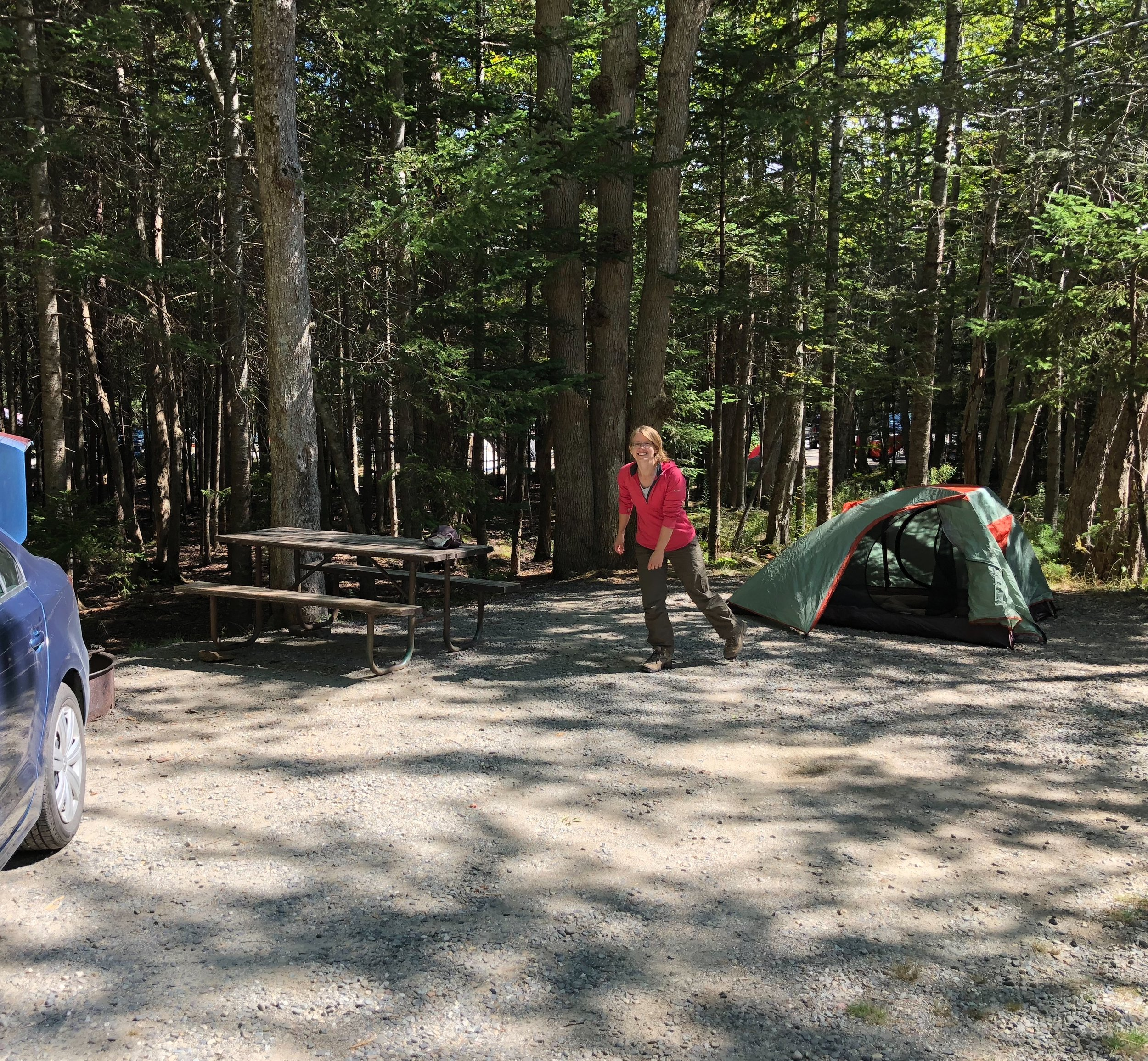 Blackwoods Campground, Acadia National Park
