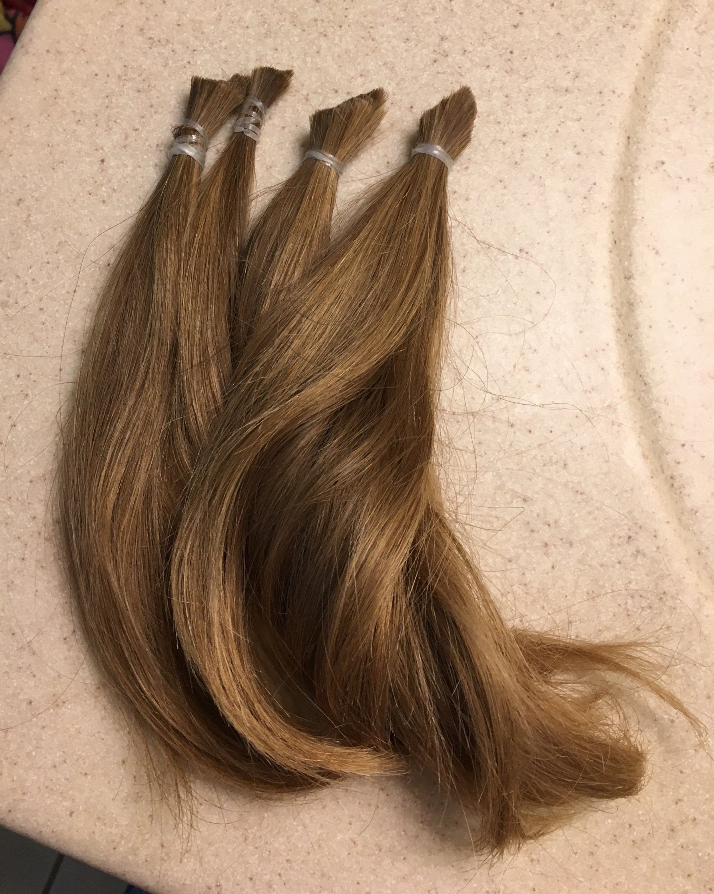 Finally donated my hair - 10 inches gone!