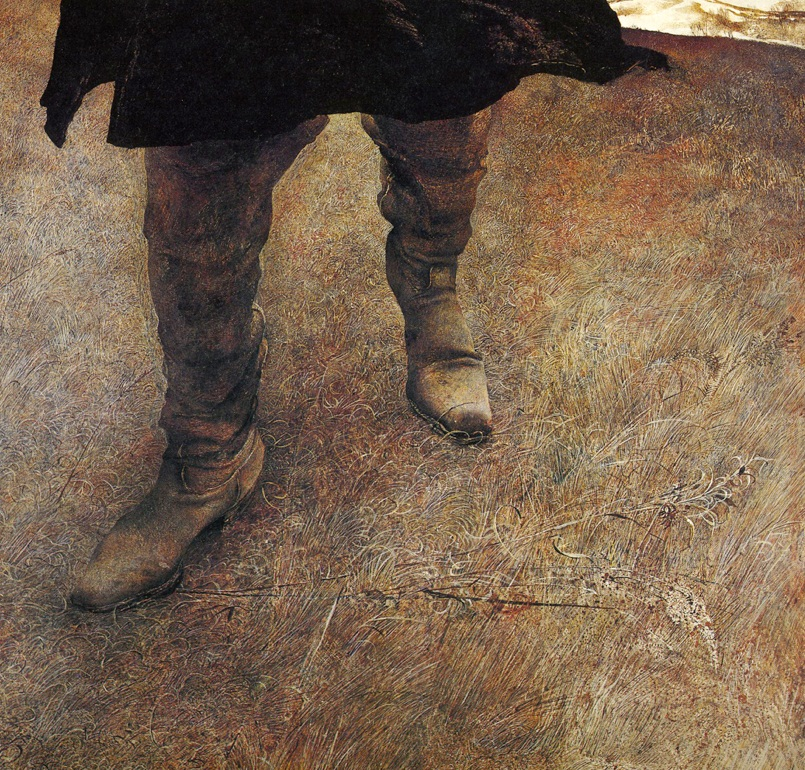 """""""The true path is along a rope, not a rope suspended way up in the air, but rather only just over the ground. It seems more like a tripwire than a tightrope.""""   Franz Kafka,  Zurau Aphorisms   (Andrew Wyeth,  Trodden )"""