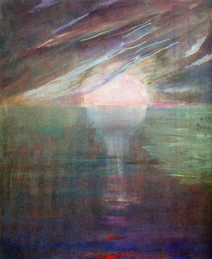 """""""Everything is nothing, with a twist.""""   Kurt Vonnegut,  Slaughterhouse-Five   (Mikalojus Ciurlionis'  Creation of the World XIII )"""