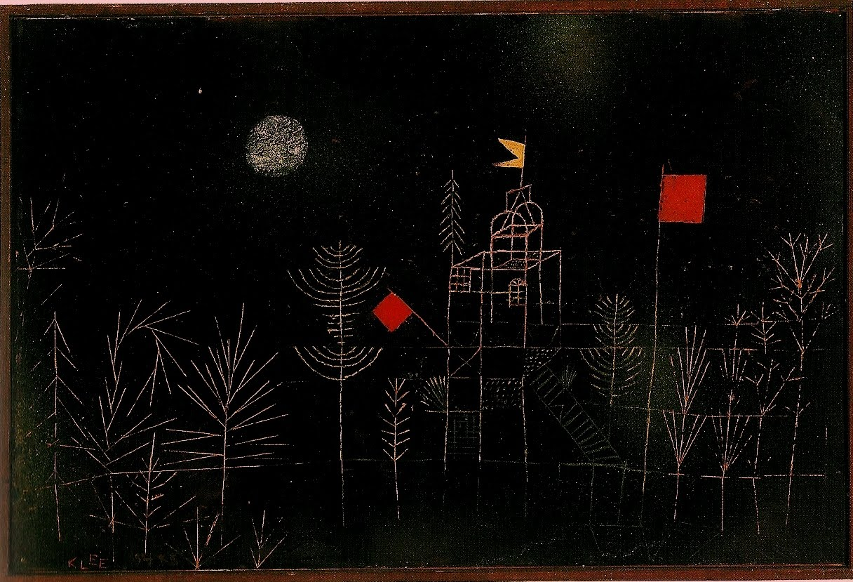 """ Isn't it the moment of most profound doubt that gives birth to new certainties? Perhaps hopelessness is the very soil that nourishes human hope; perhaps one could never find sense in life without first experiencing its absurdity. . .""   Václav Havel, ""From Prisoner to President – A Tribute""  (Paul Klee's  Bird Garden )"