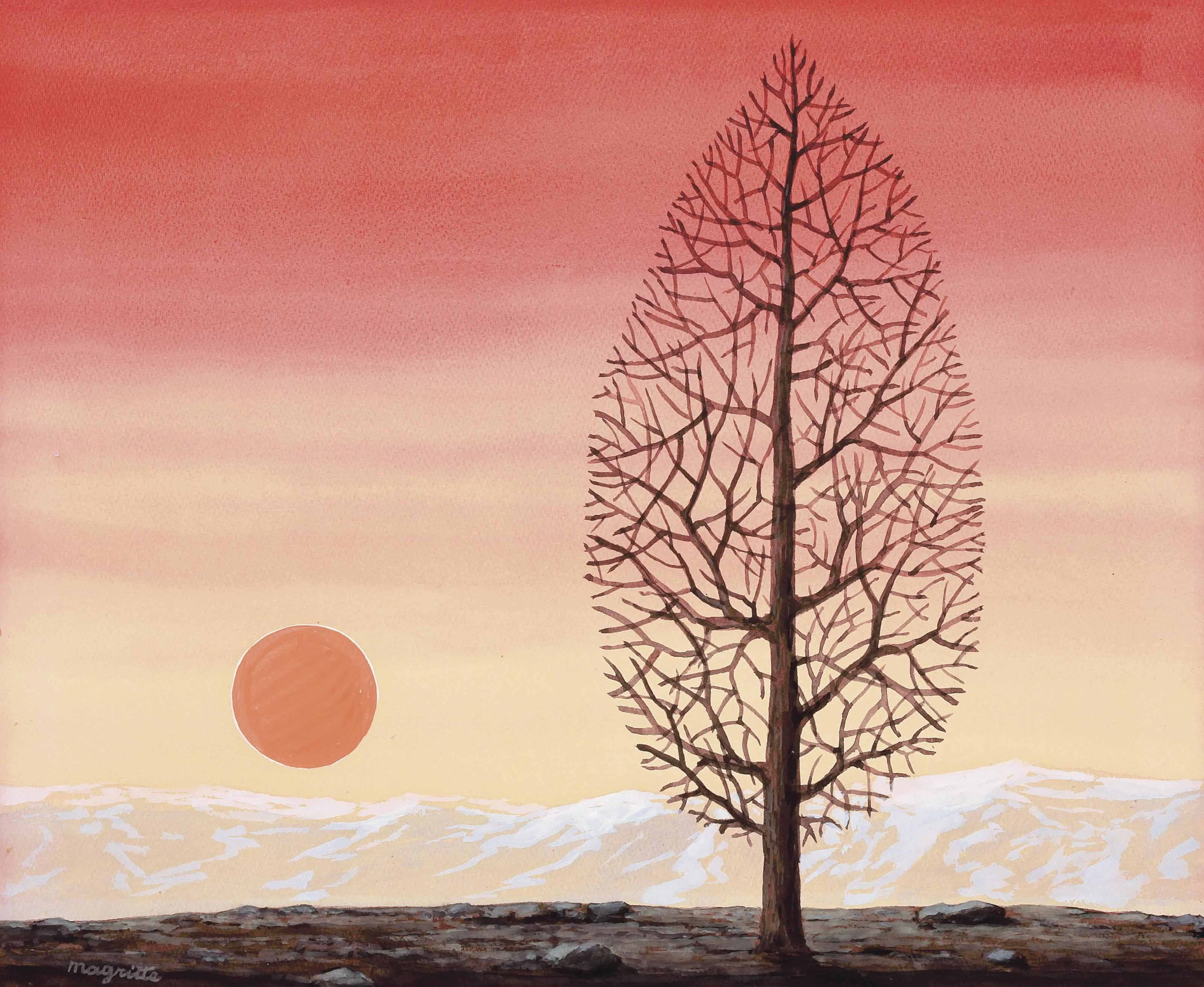 """""""The first and the simplest emotion which we discover in the human mind is curiosity.""""   Edmund Burke,  On the Sublime and Beautiful   (René Magritte's  The Search for the Absolute )"""