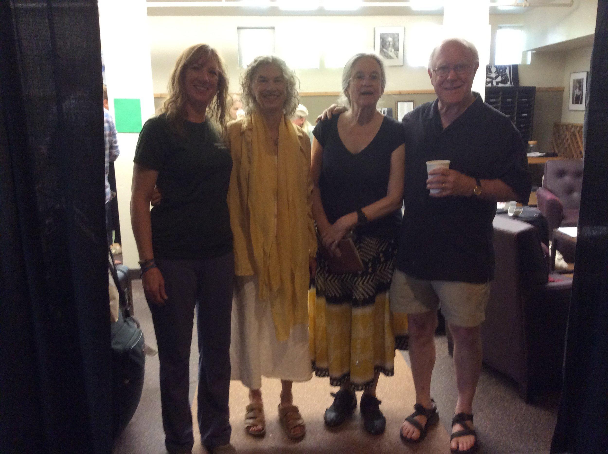 Brenda Hillman, Sharon Olds, Robert Hass