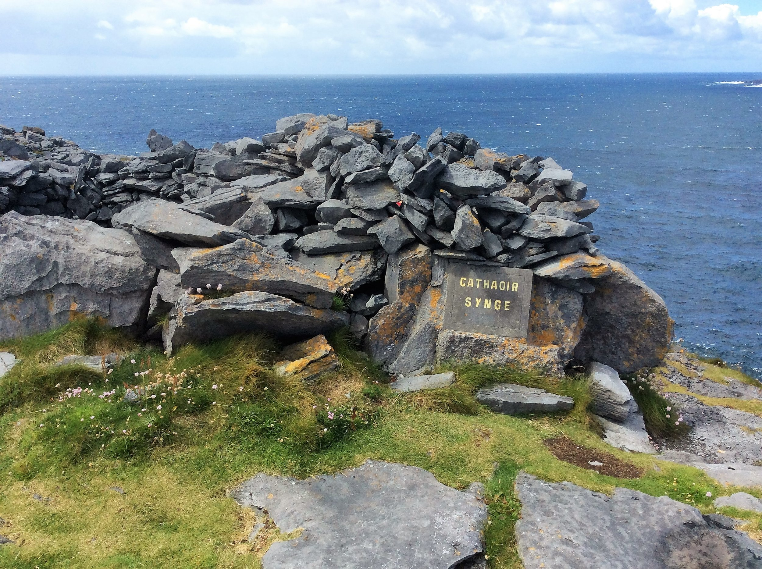 "John Millington Synge's ""Chair"" on Inis Meain"