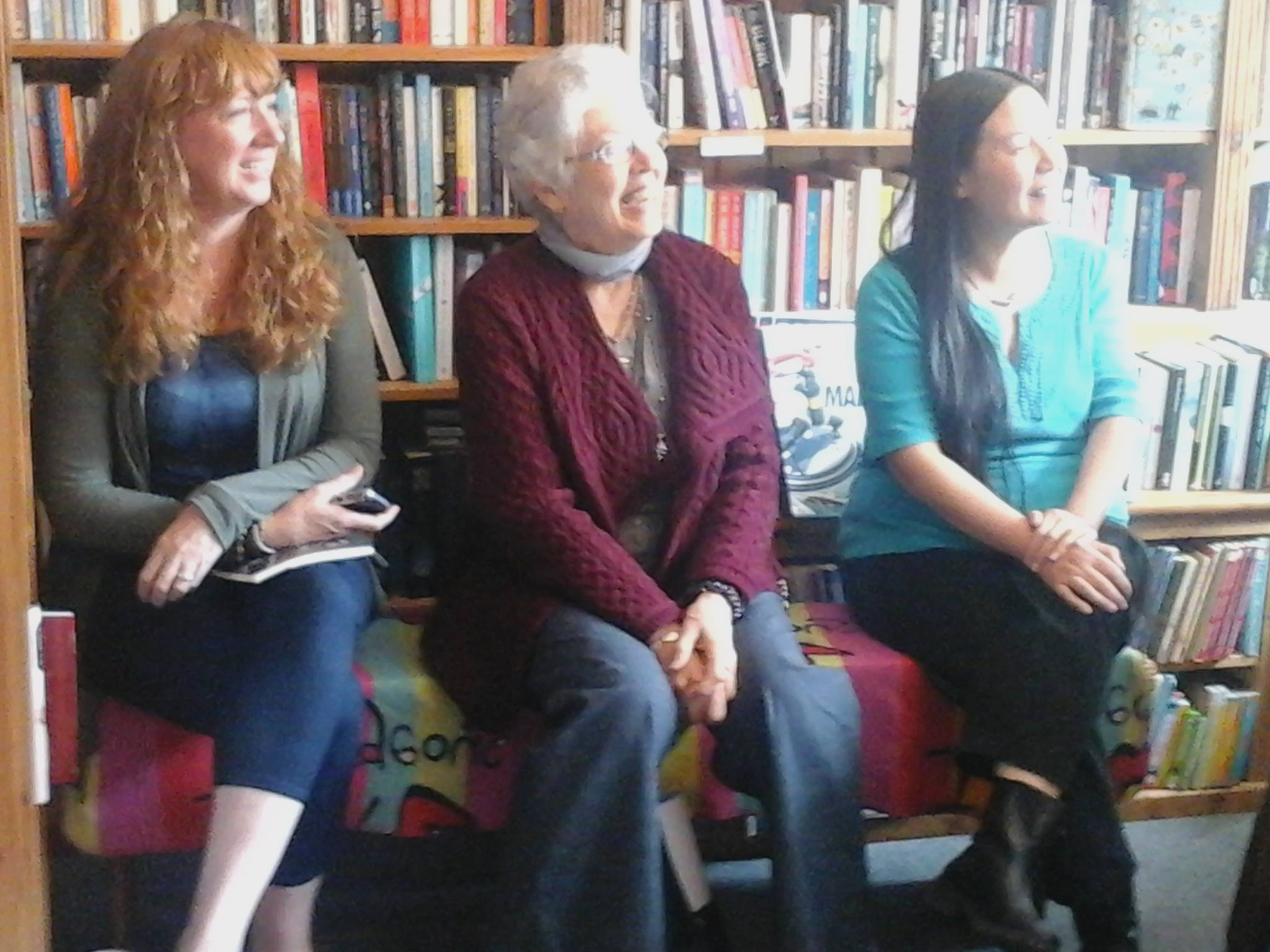 Reading at Salmon Bookshop in Ennistymon, Ireland