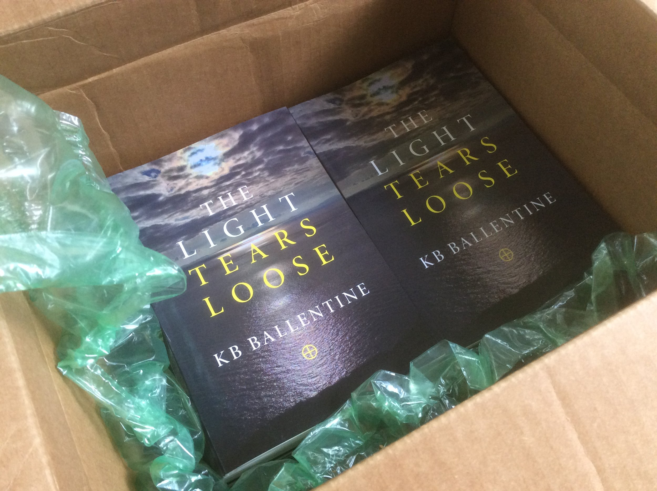 Received copies of my sixth book!