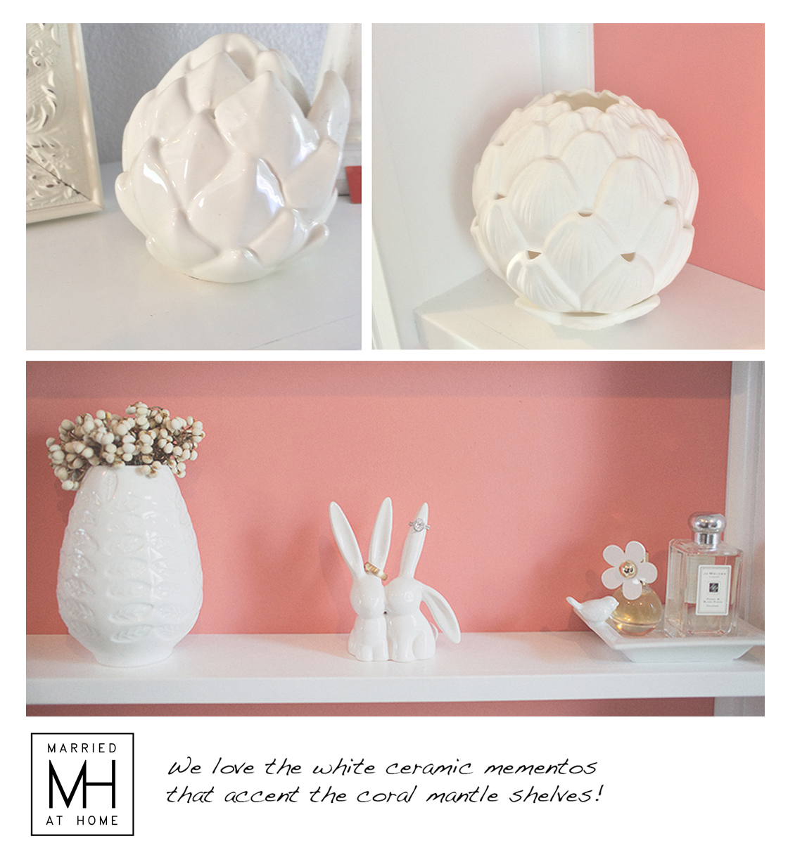 Our Bedroom Mantle | Married At Home
