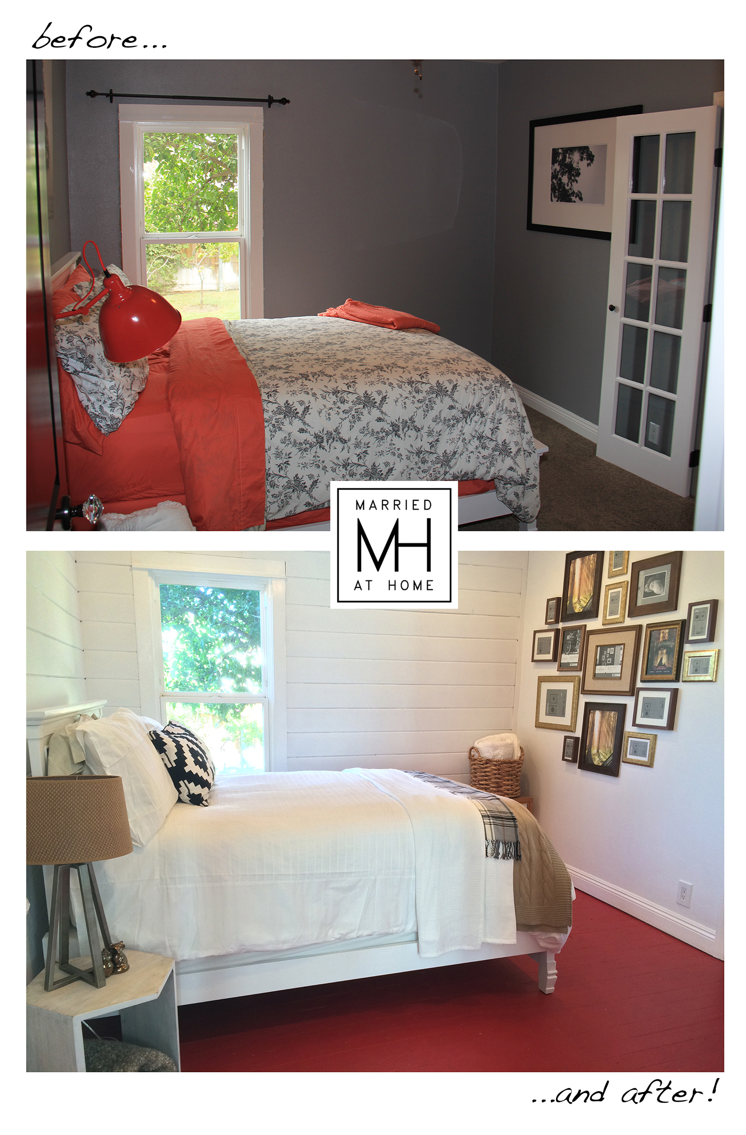 Before and After Transformation | Married At Home
