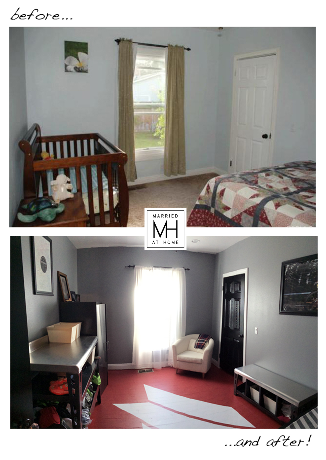 Mancave Transformation | Married At Home