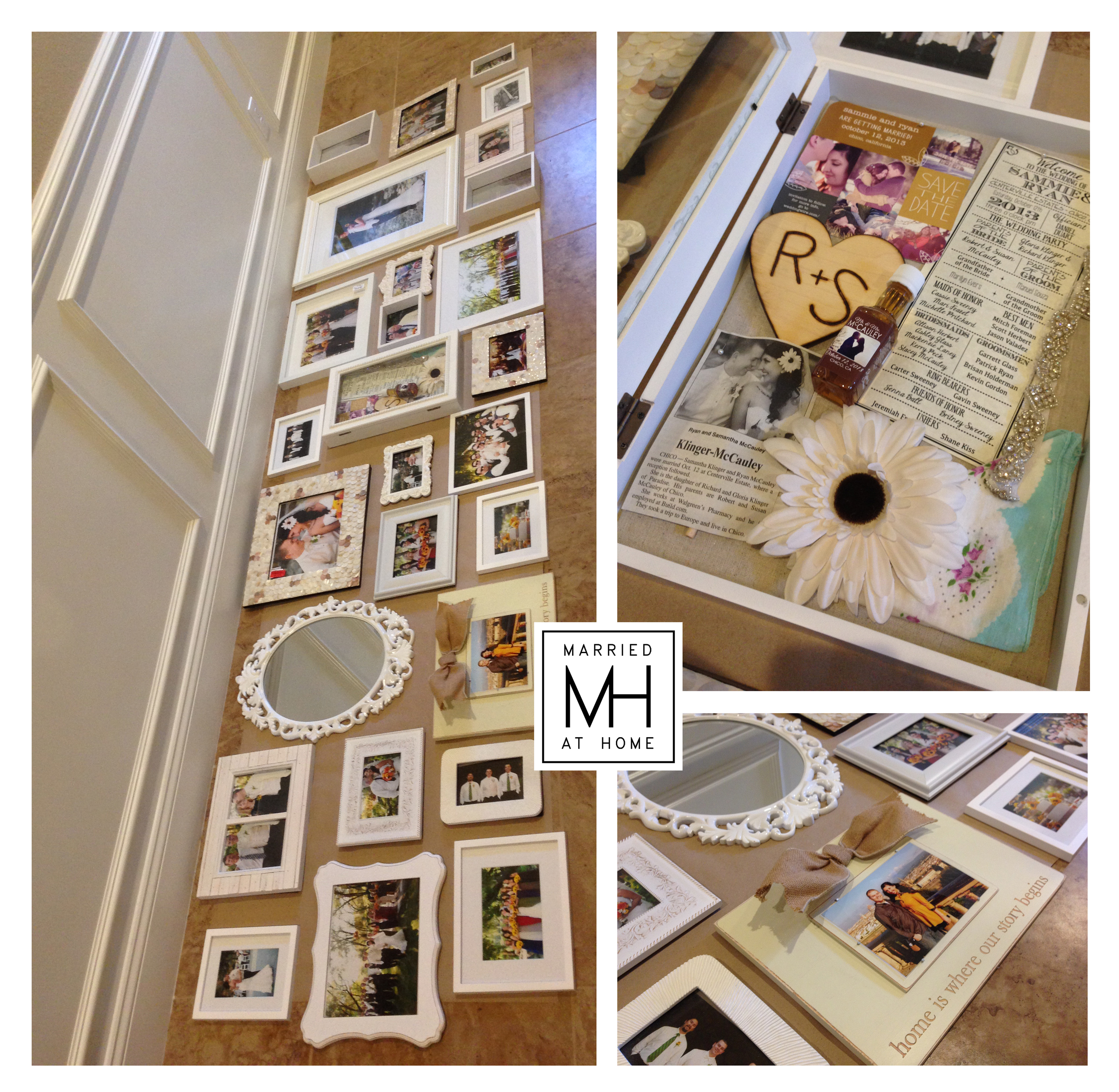 Photo Wall Planning | Married At Home