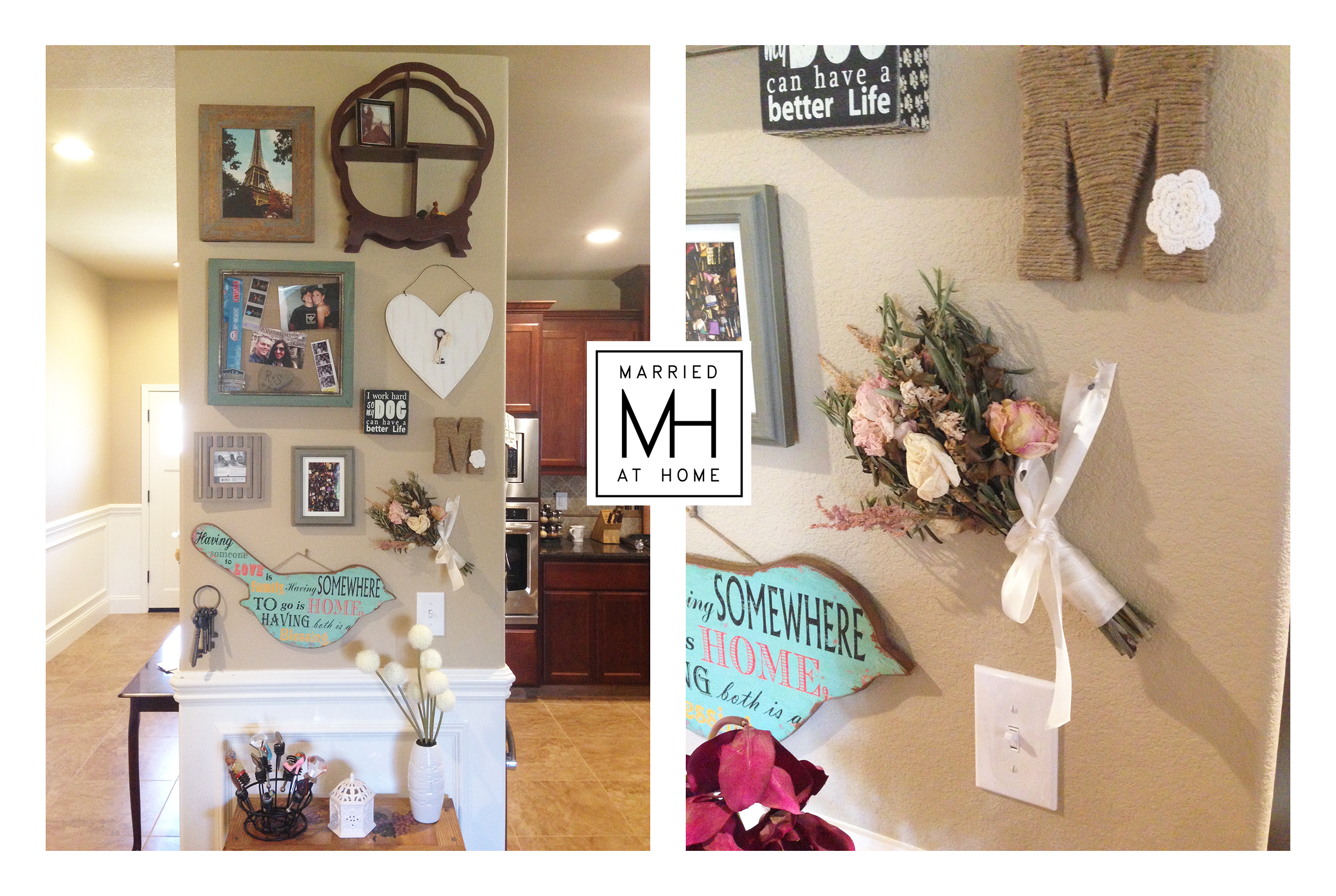 Gallery Wall | Married At Home
