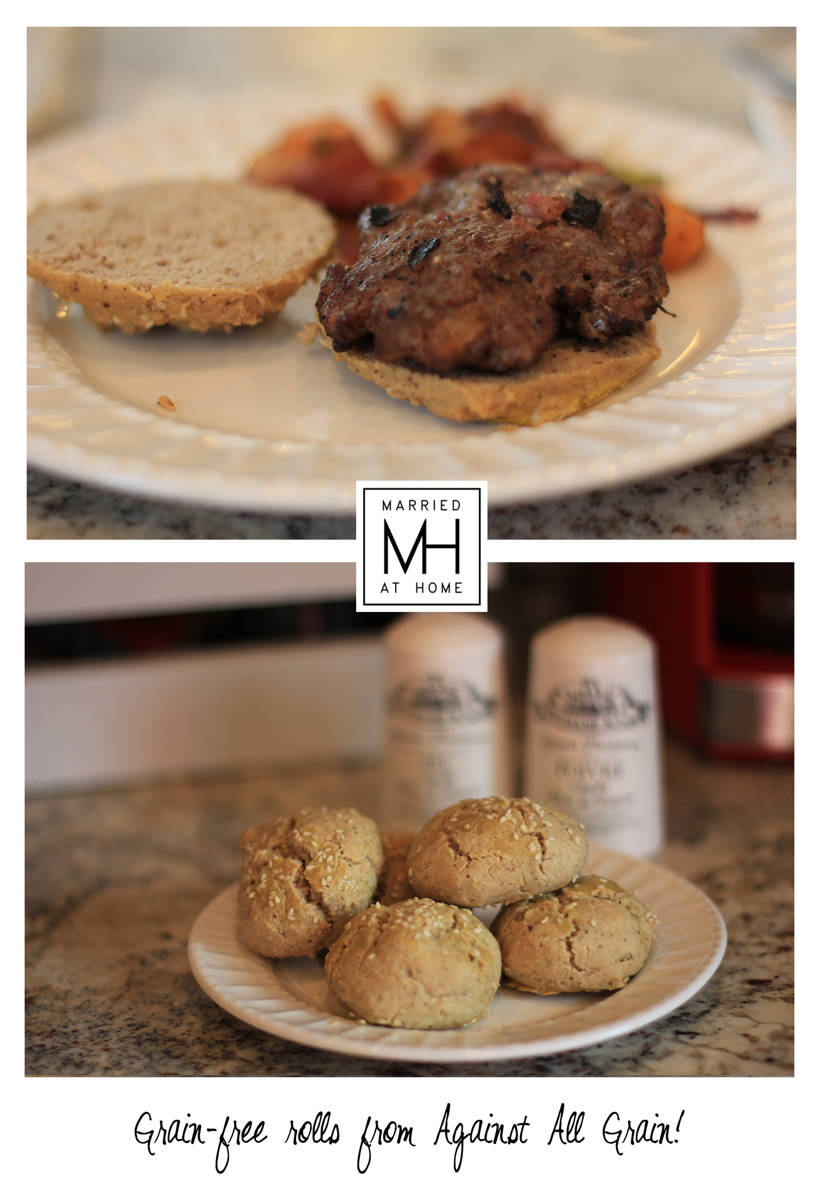 Paleo Hamburgers | Married At Home