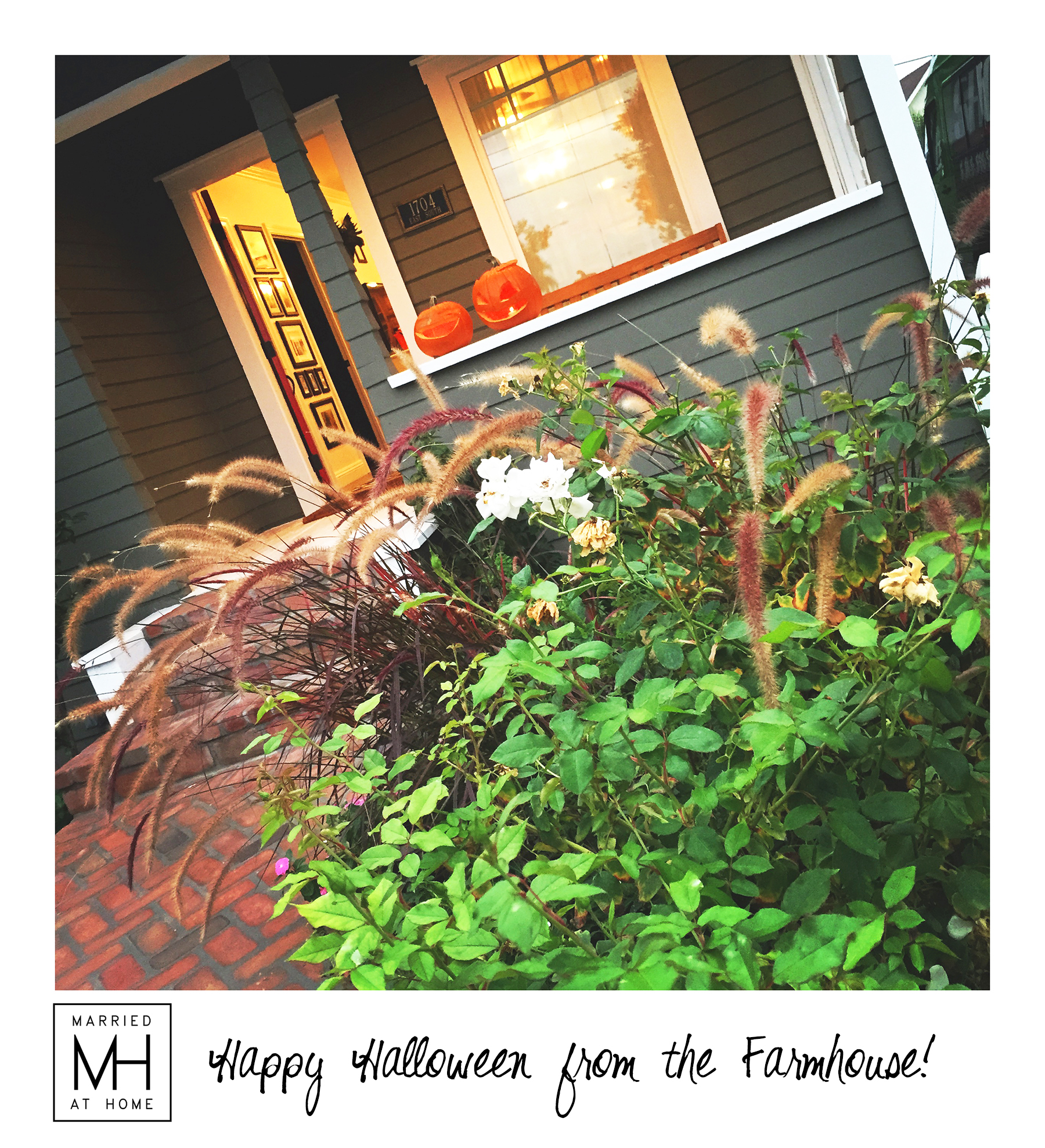 Happy Halloween from the Farmhouse | Married At Home