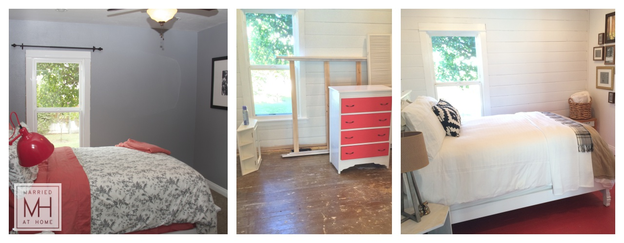 Our DIY Shiplap | Married At Home