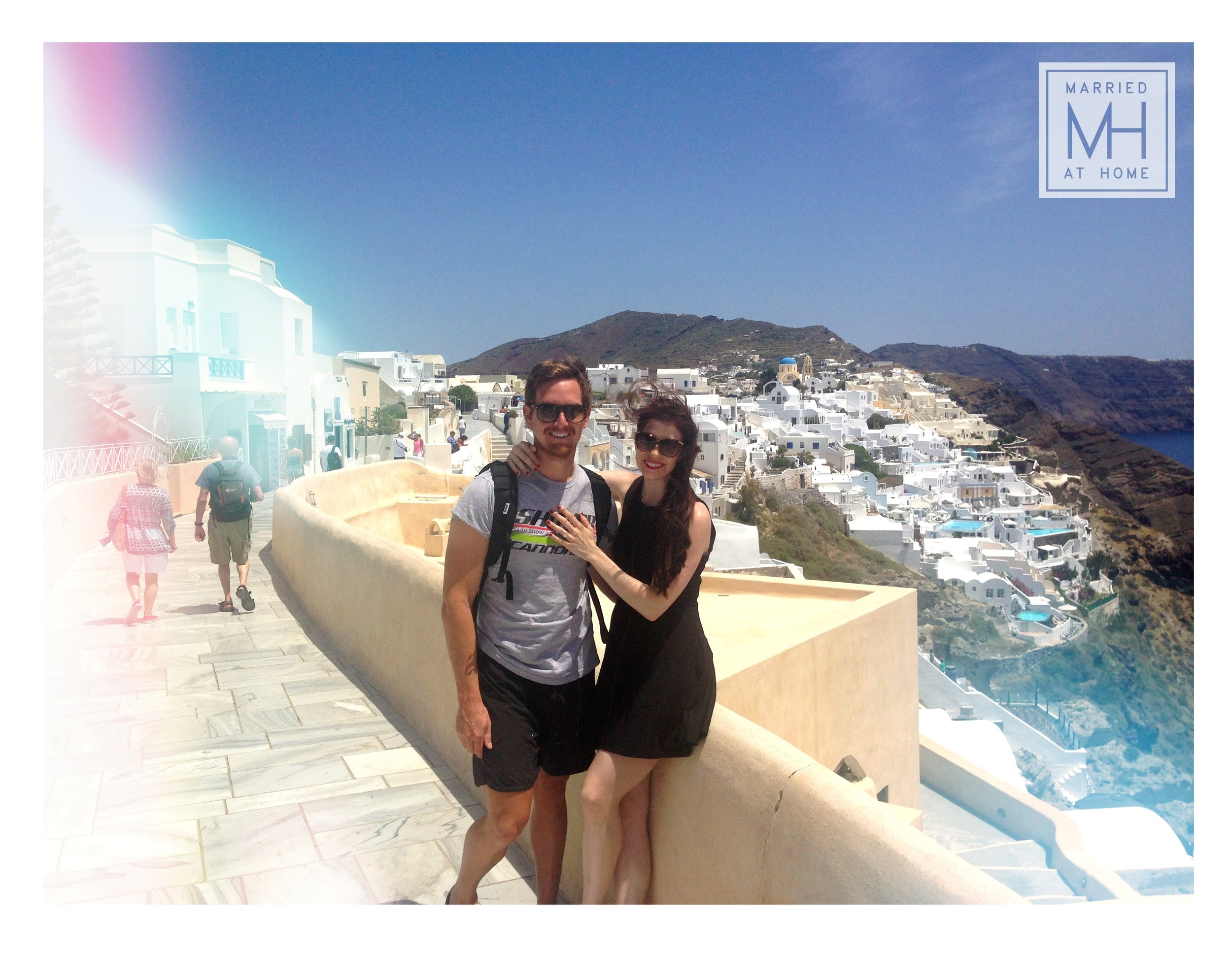Our Santorini Honeymoon | Married At Home