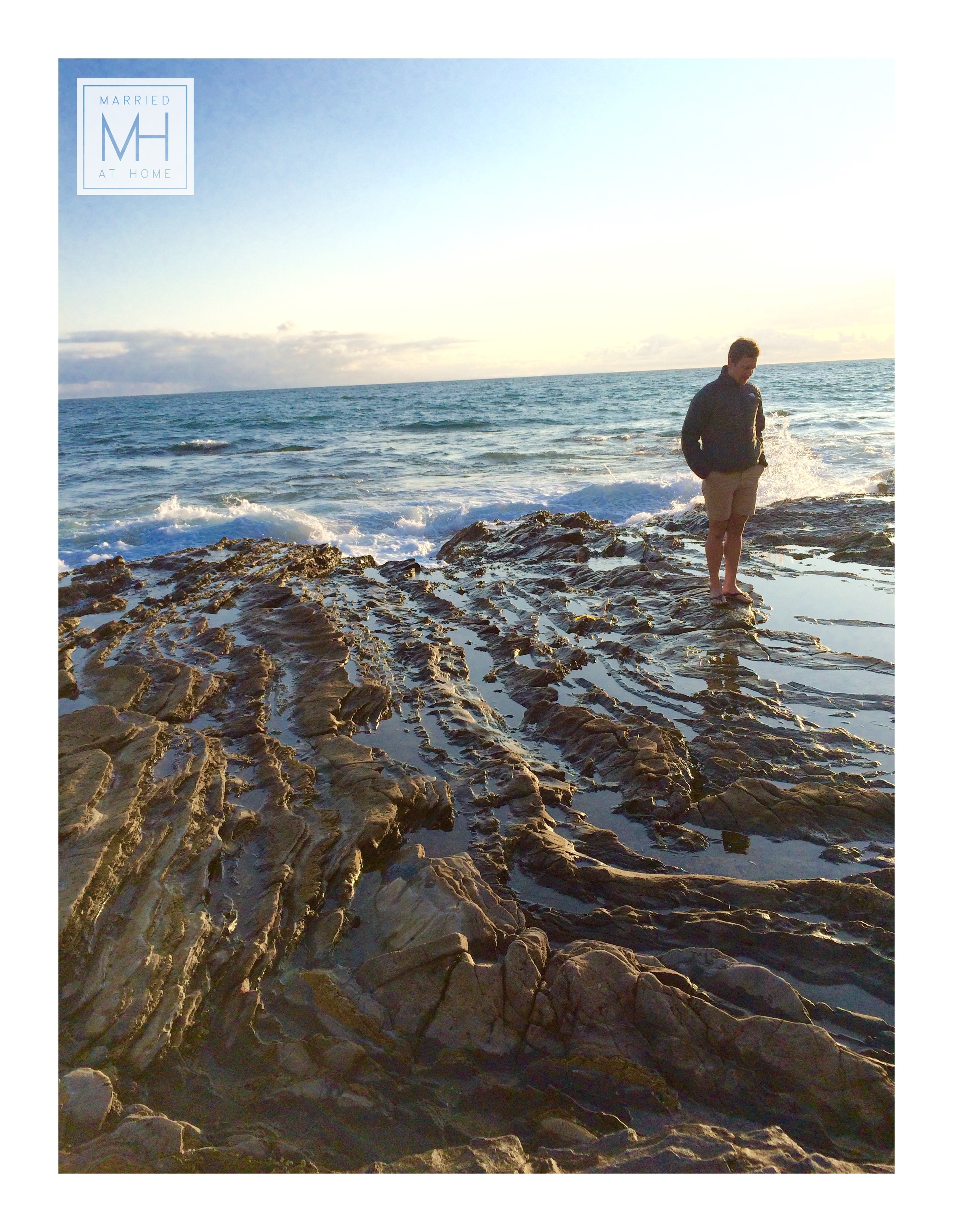 Crystal Cove Tidepools | Married At Home