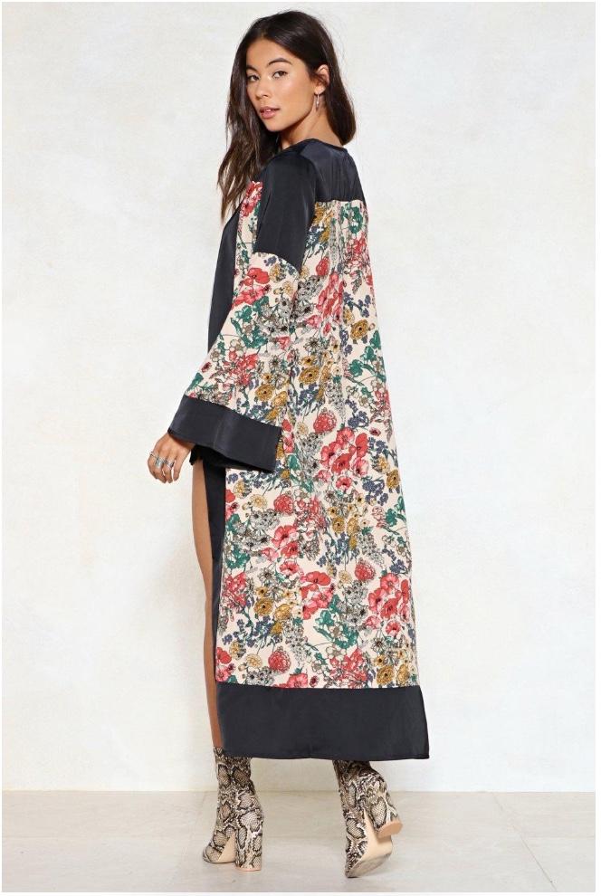 Good Natured Floral Kimono