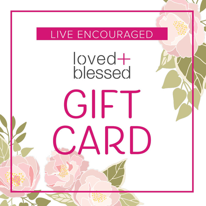 GIFT CARDS - When you know they need encouragement, but don't know what to send.