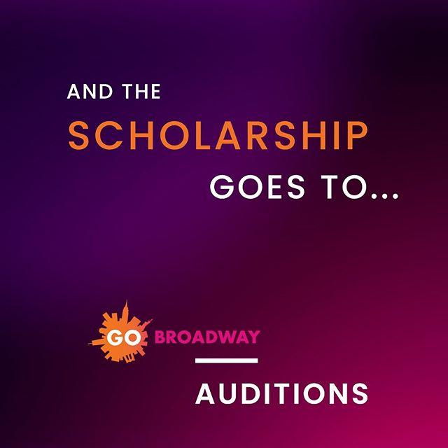 📣 Announcement! ⠀ 💥2019 Scholarship Winners!💥 ⠀ Gracias a todos los que participaron de las audiciones para becas en @actartmusicaltheatre! ⠀ ⠀ 🏆Los ganadores son: ⠀ ⚡️@lulipuglisi ⠀ ⚡️@barsamiancarmela ⠀ ⚡️@pablocavieresmusic ⠀ ⚡️@brendagestoso ⠀ ⚡️@ashley.matheus ⠀ ⚡️@flornaranjo ⠀ ⚡️Ricardo Sotelo ⠀ Y gracias al jurado! ⠀ 🙌🏻@maestrully709 ⠀ 🙌🏻@dario.petruzio ⠀ ⠀ 🗽Nos vemos en NYC 2020!