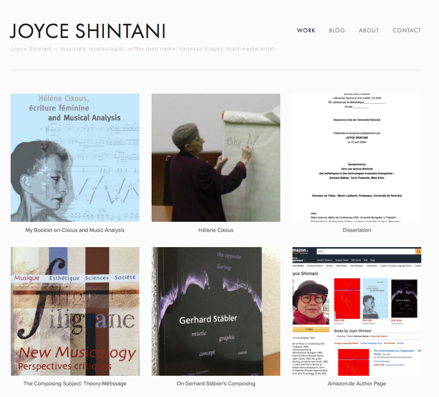 - Website as of today