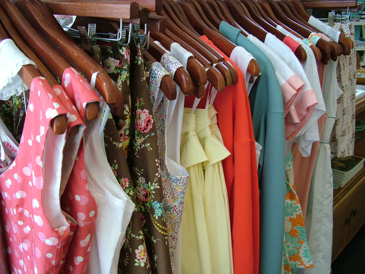 Beautiful dresses for a bargain.