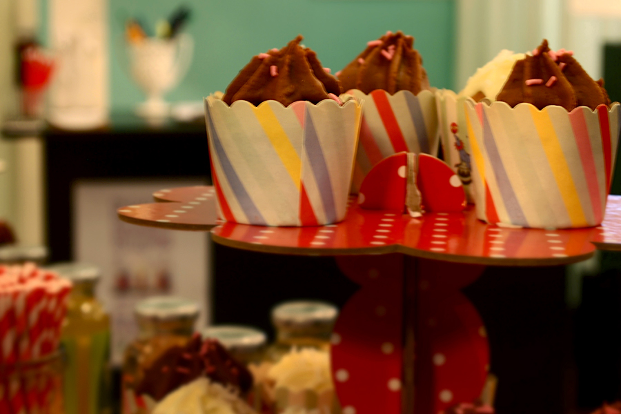 Sample the master vegan baker's cupcakes.