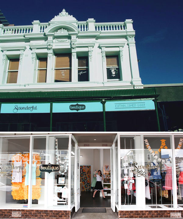 Swonderful , the prettiest little shop, run by the loveliest women.