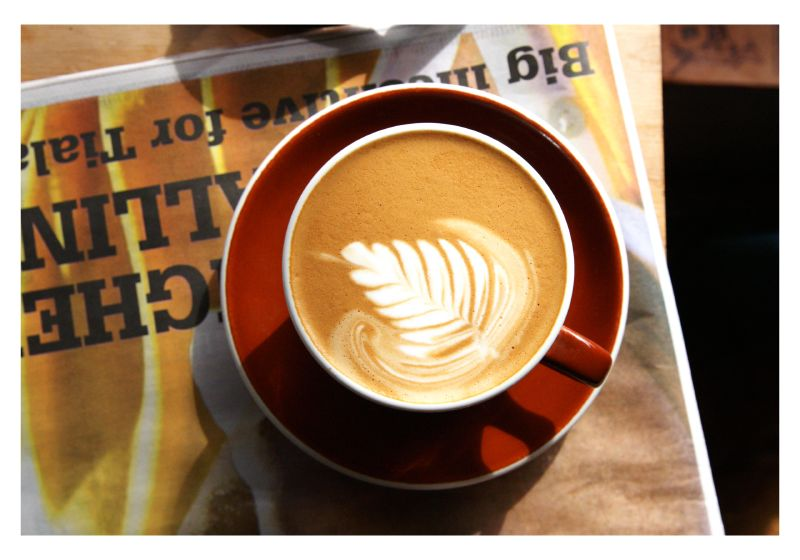 Peoples Coffee , where my coffee addiction was born.