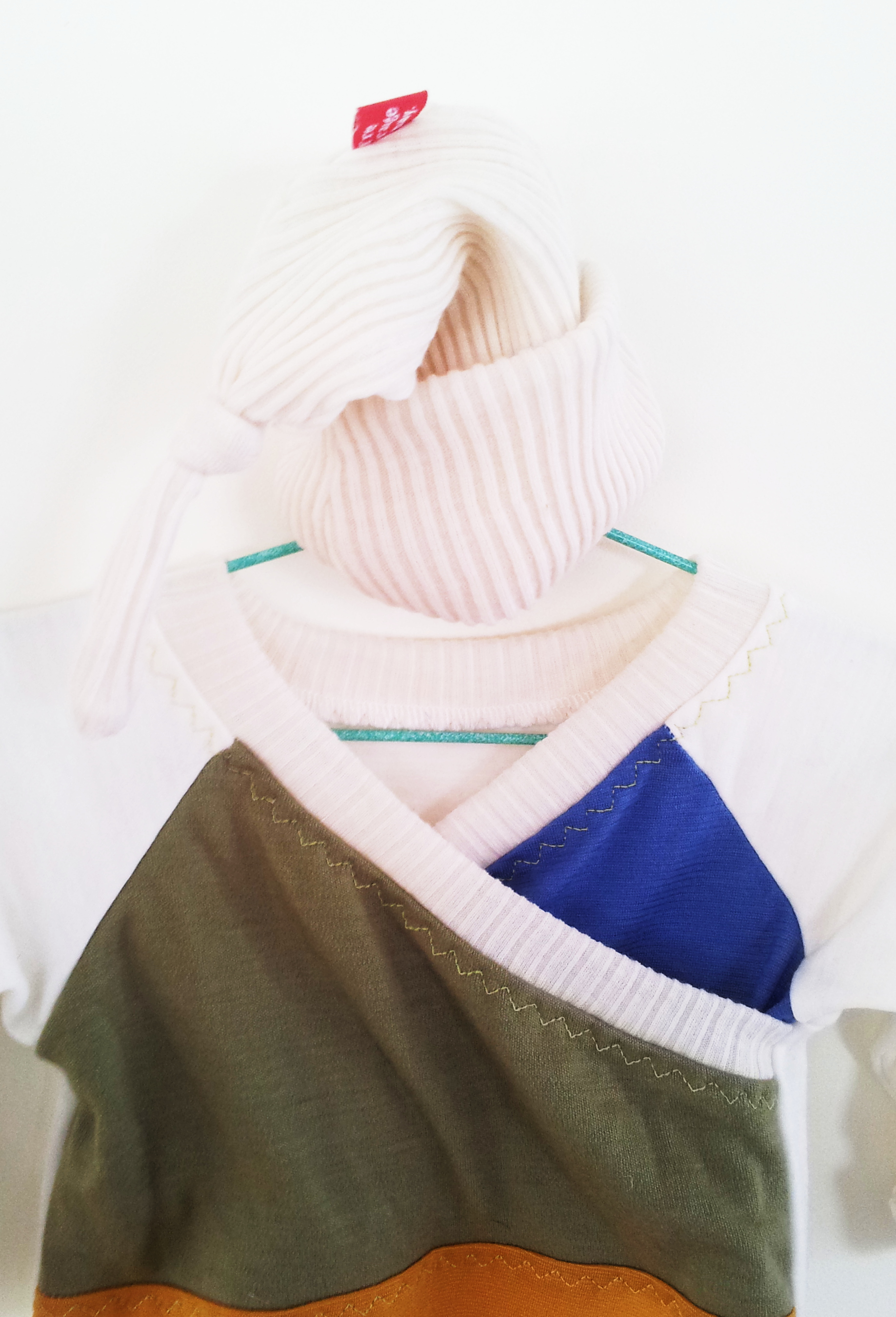 Another sleep sack, with the softest merino rib hat. I'm not normally a big fan of white for tiny spewing pooing babes, but this was just so soft and sweet.