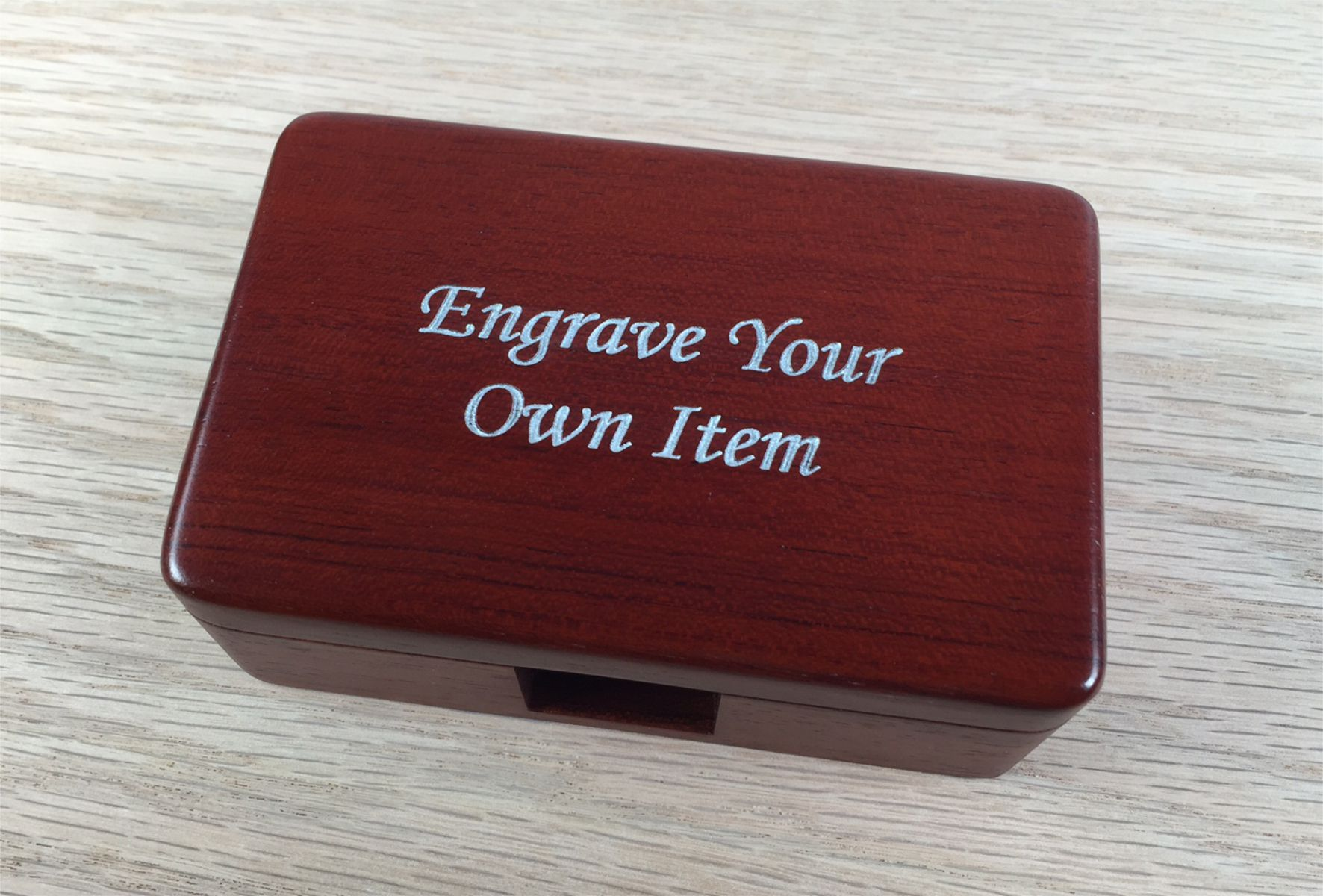Engrave your own item with a message or image to make it truly unique and special