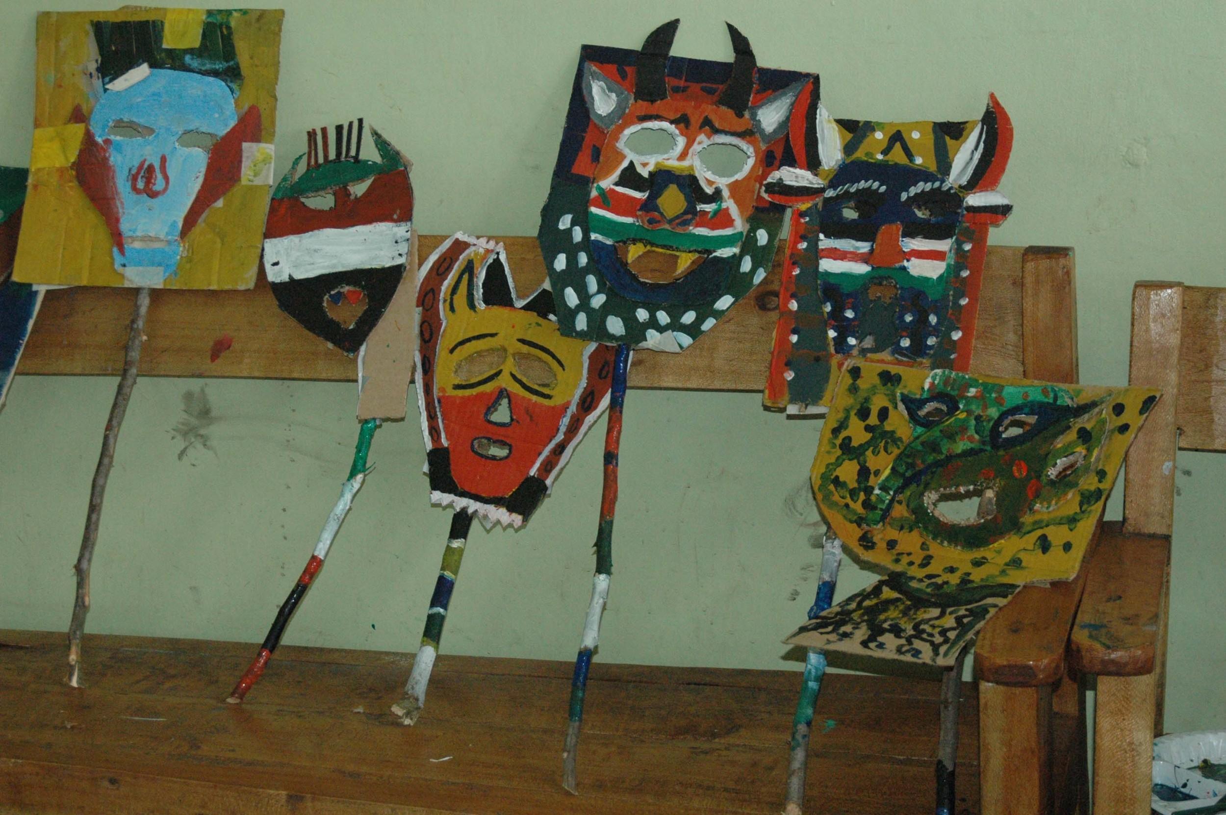 art  - cardboard masks - Mathare.jpg