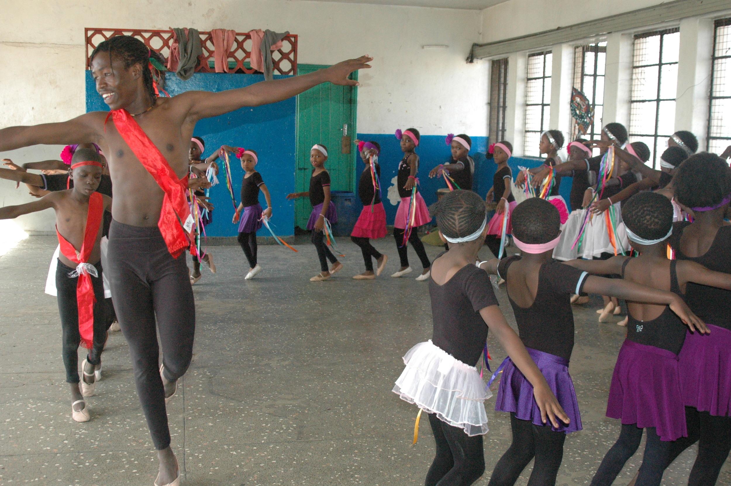 Ballet  teacher Mike Mathare.JPG