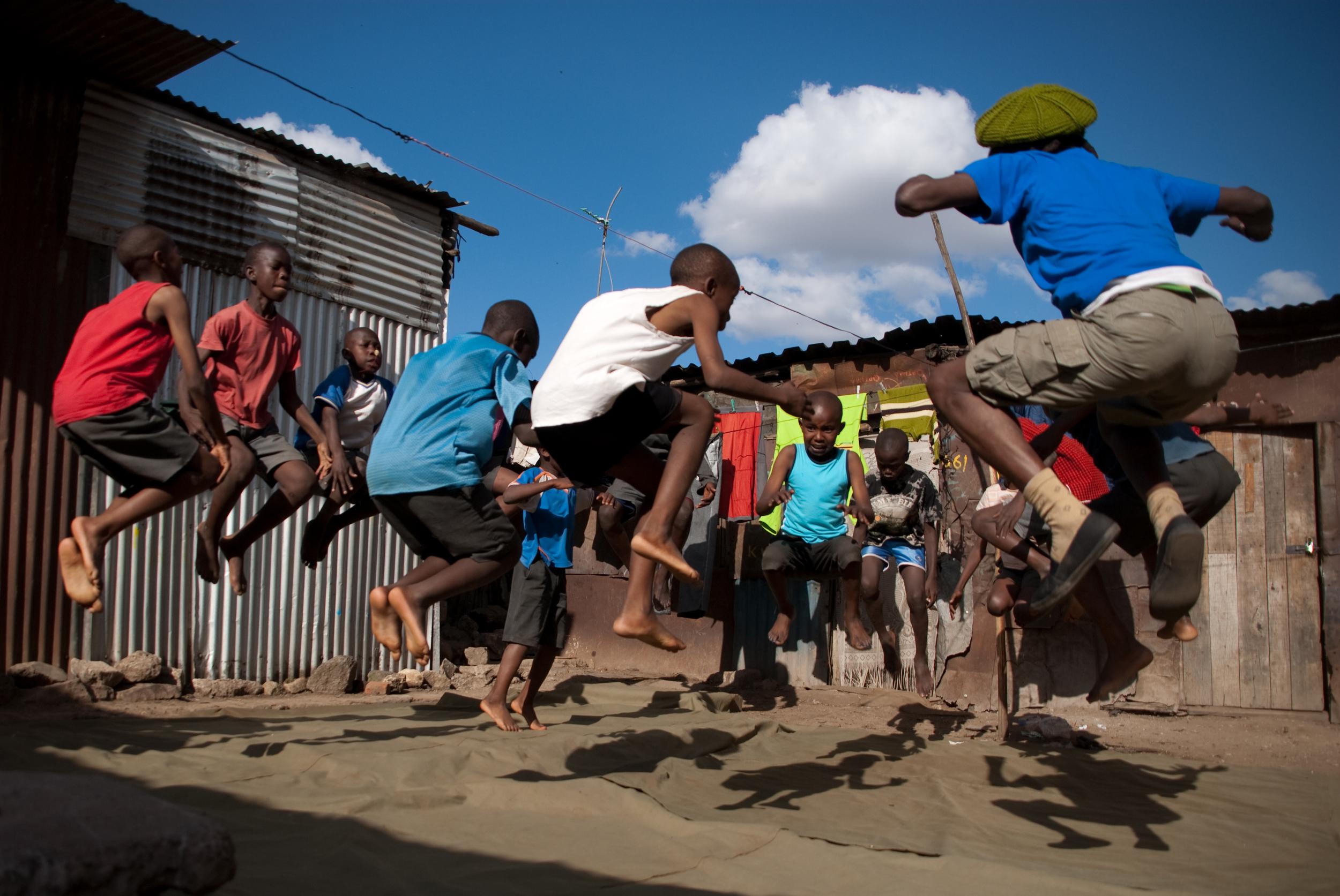 Circus  training Mathare.jpg