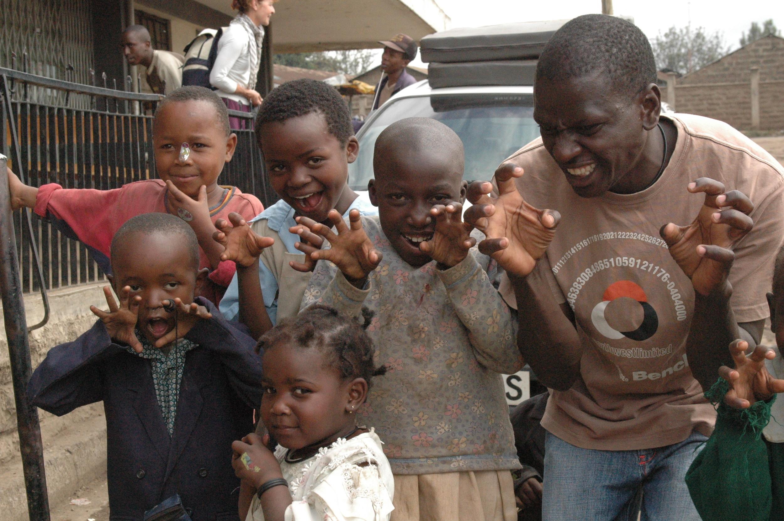 Drama  at Mathare.JPG