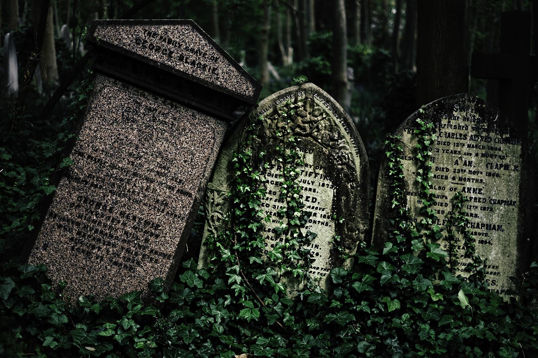 Blackie. East Cemetery